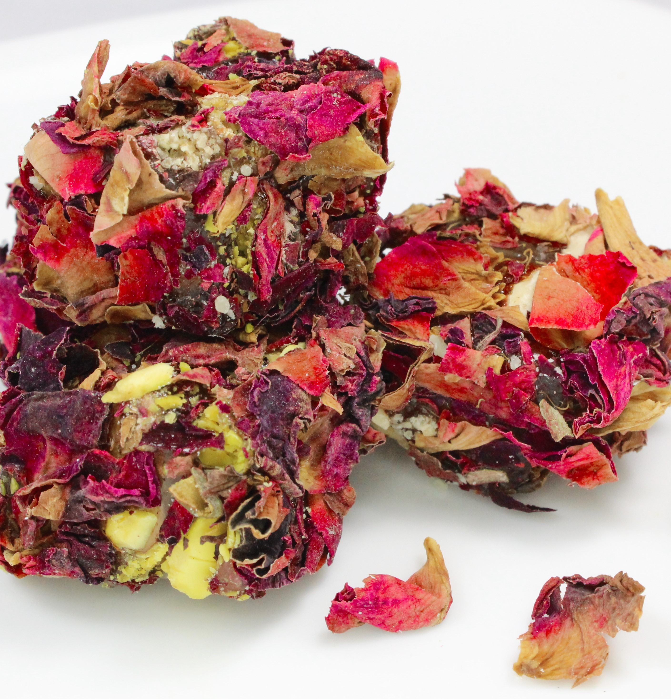 Turkish Delights with Mixed Nuts and Real Rose Petals