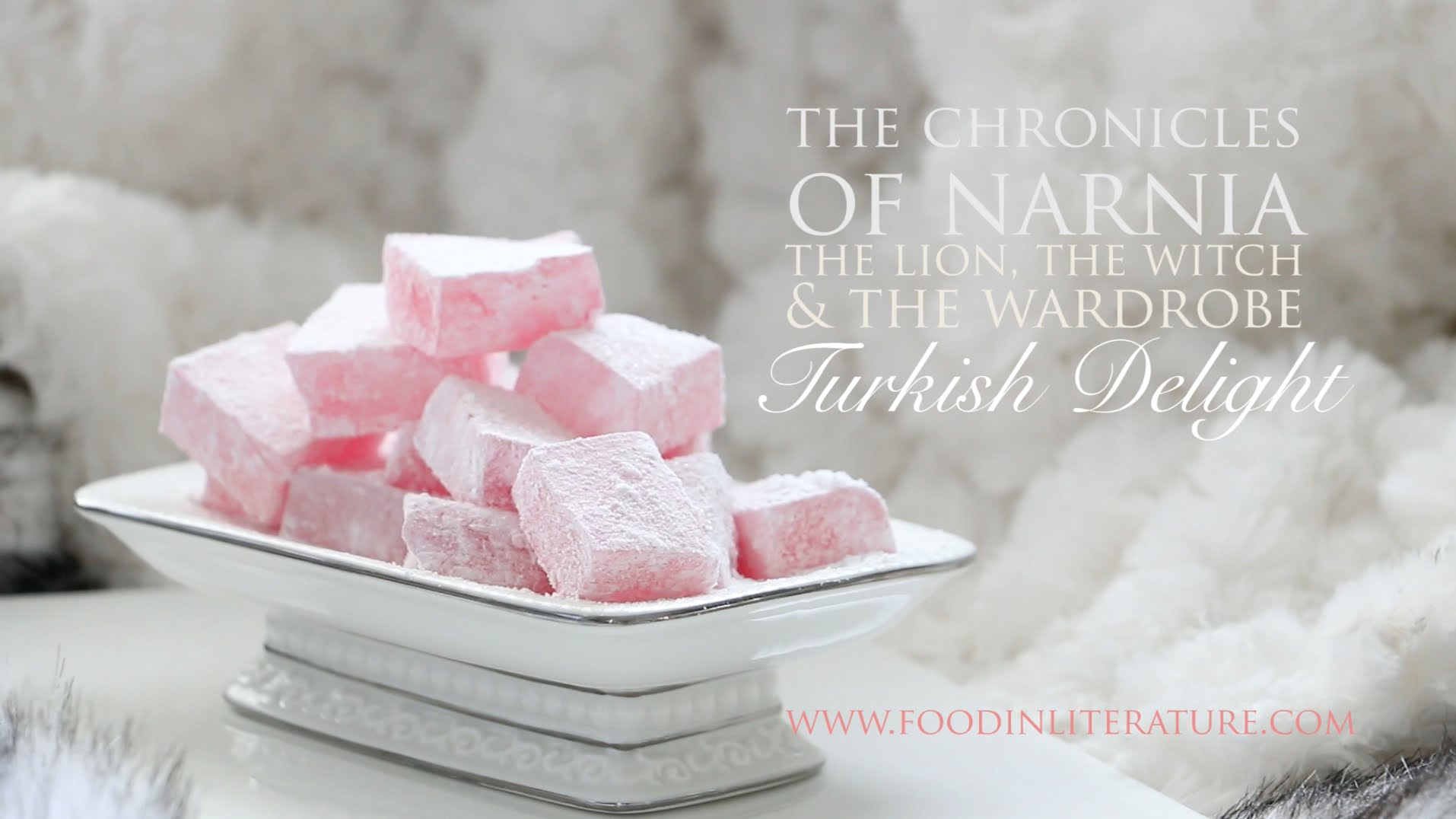 Turkish Delight from The Chronicles of Narnia   Food in Literature ...