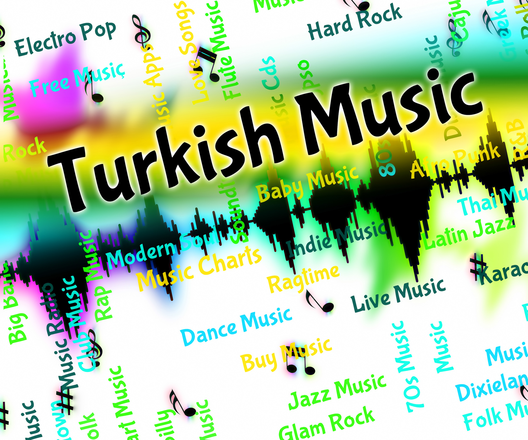 Turkish music indicates central asian and arabic photo