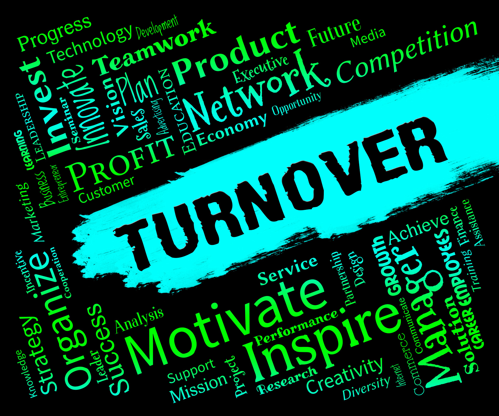 Turnover Words Indicates Gross Sales And Incomes, Gross, Income, Incomes, Revenue, HQ Photo