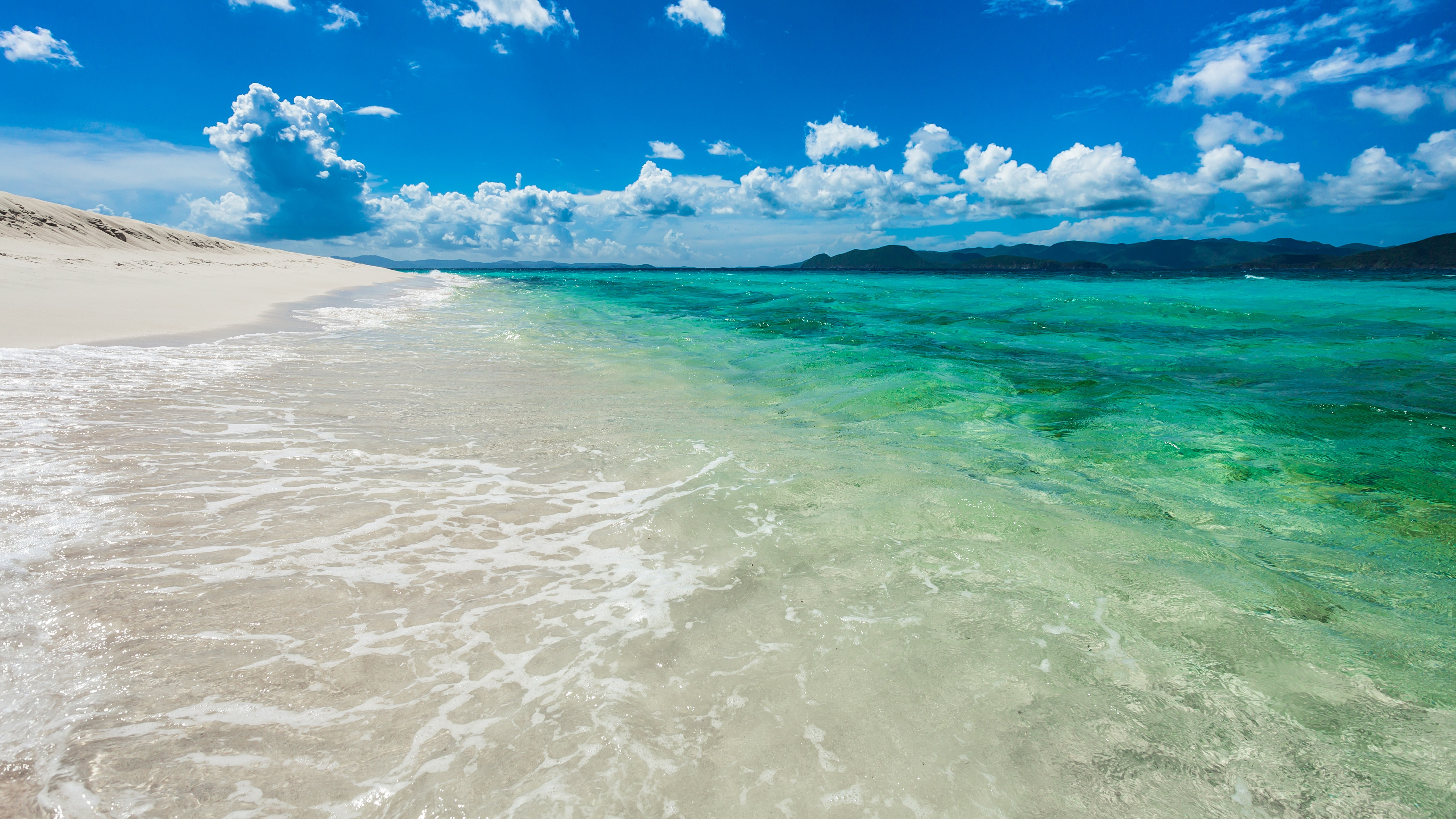 Turquoise Ocean 5k Retina Ultra HD Wallpaper and Background Image ...