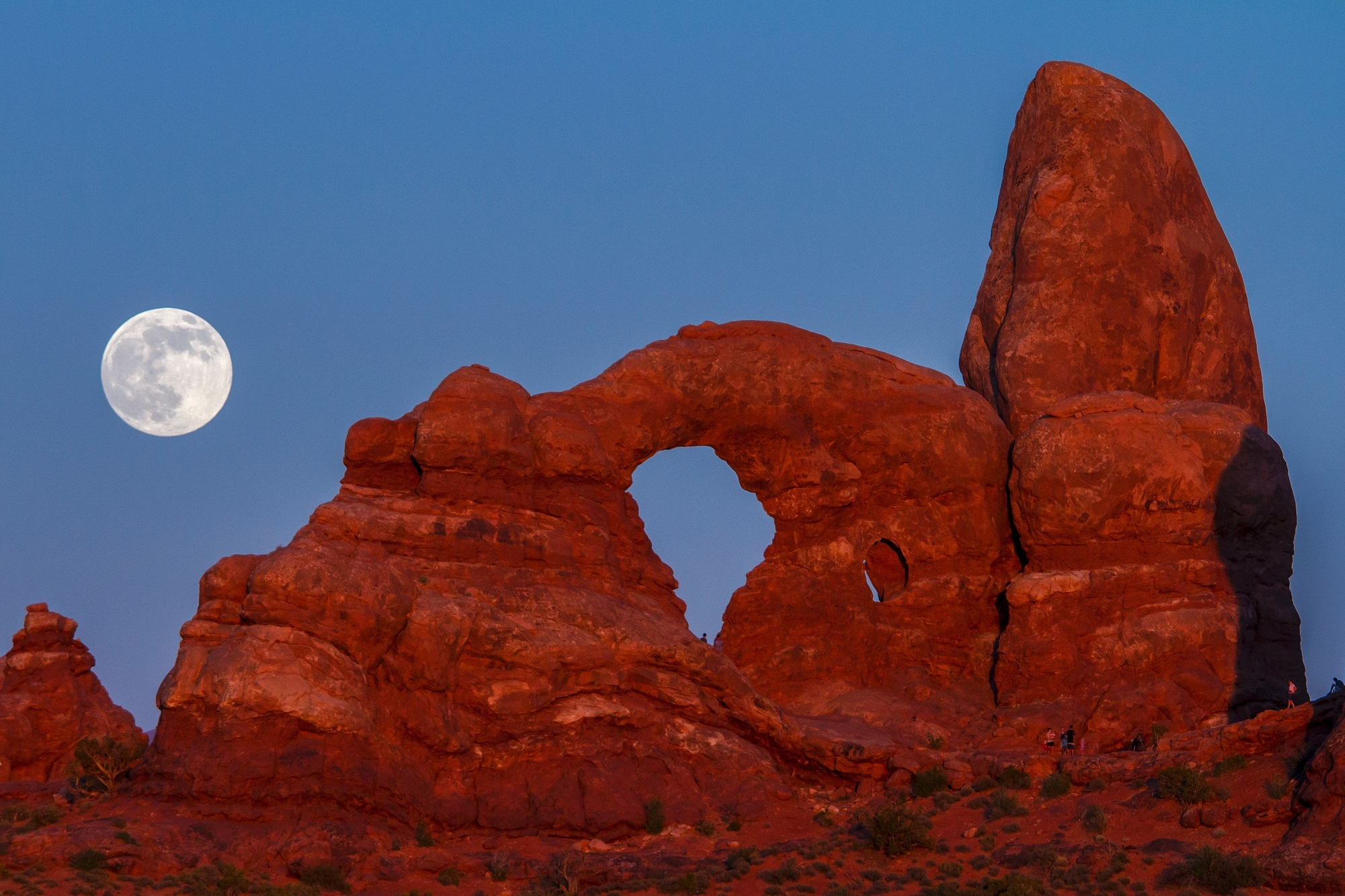 Turret arch photo