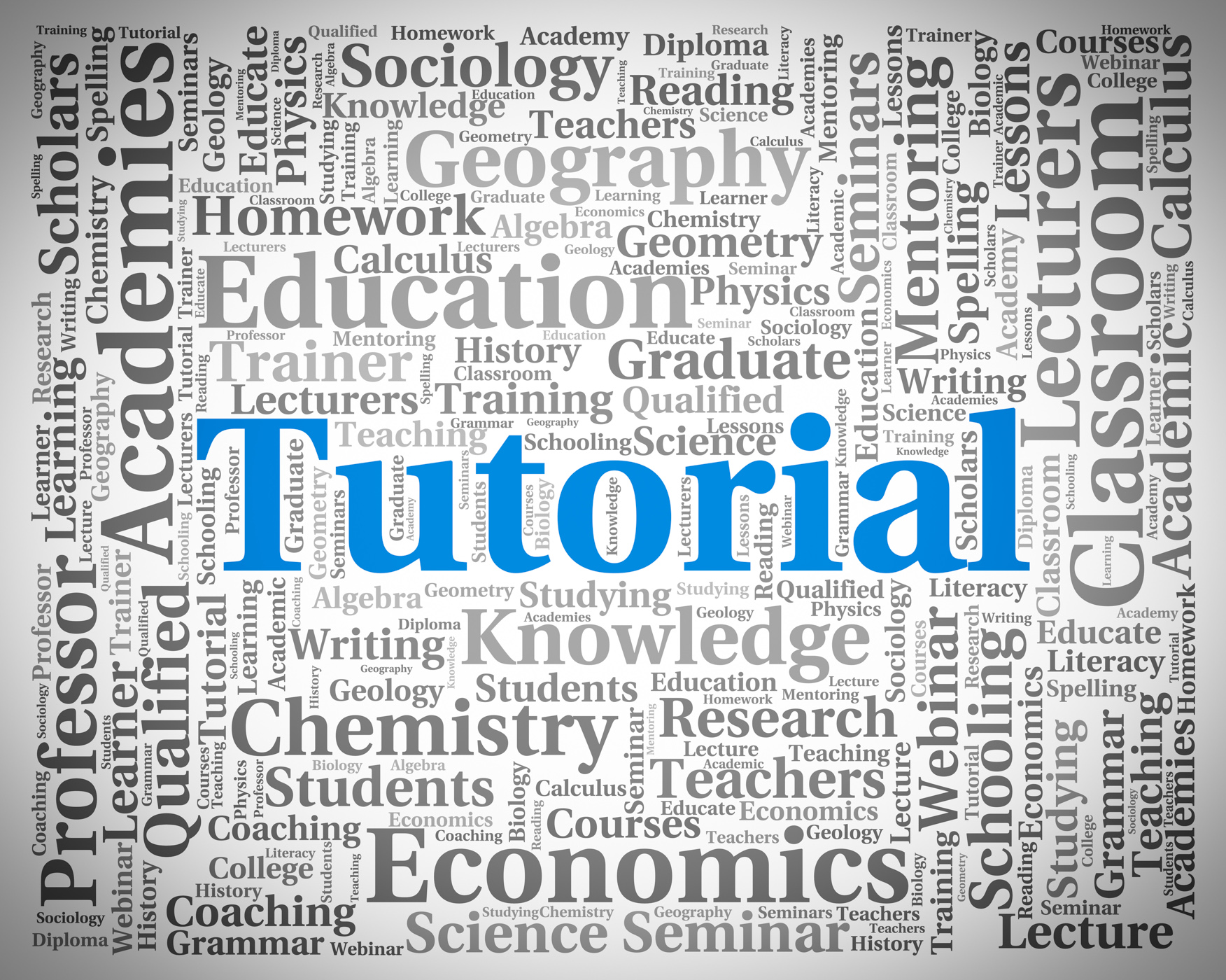 Tutorial Word Indicates Online Tutorials And College, College, Studying, Word, University, HQ Photo