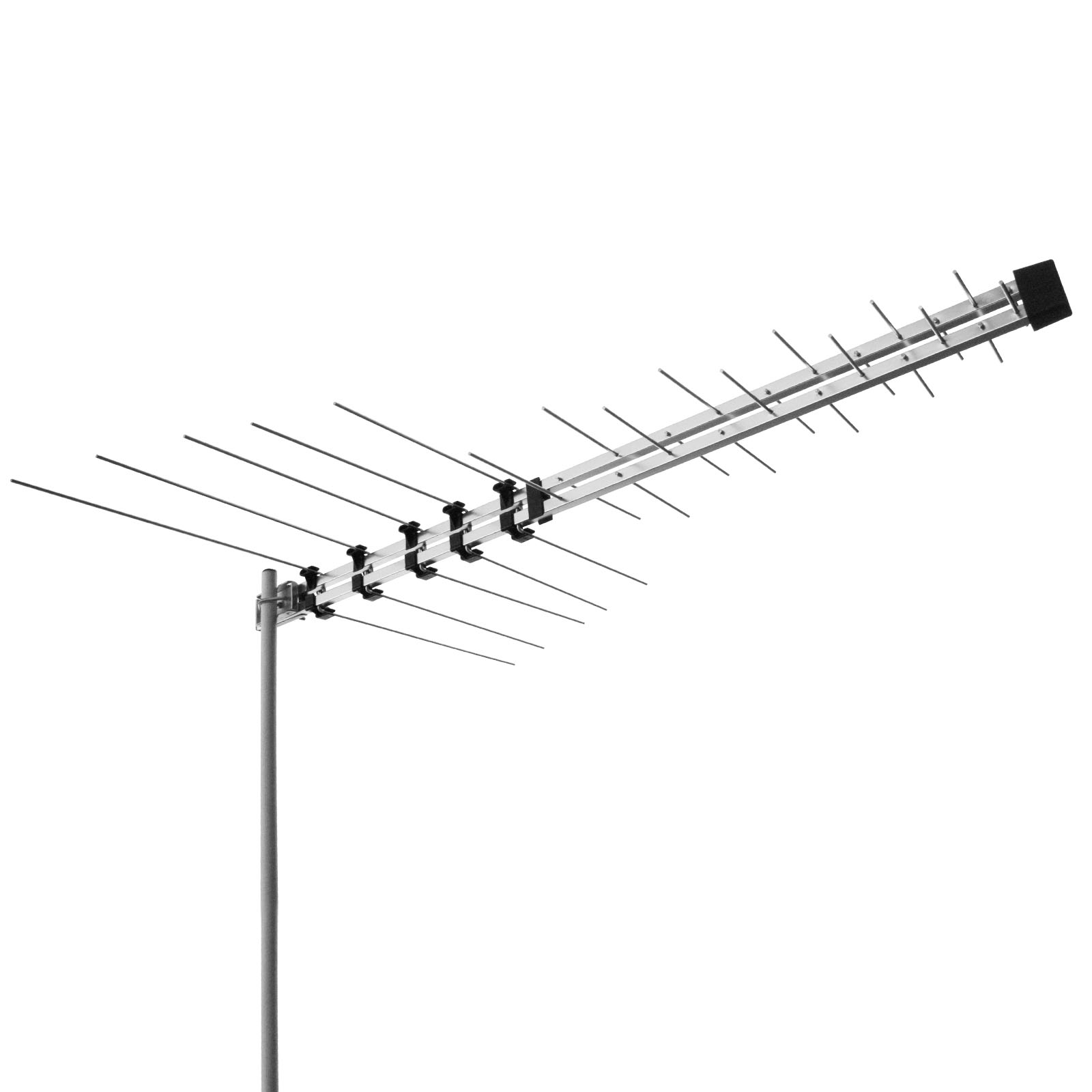 Selby 32 Element Log Periodic TV Antenna VHF UHF FM HDTV Digital ...