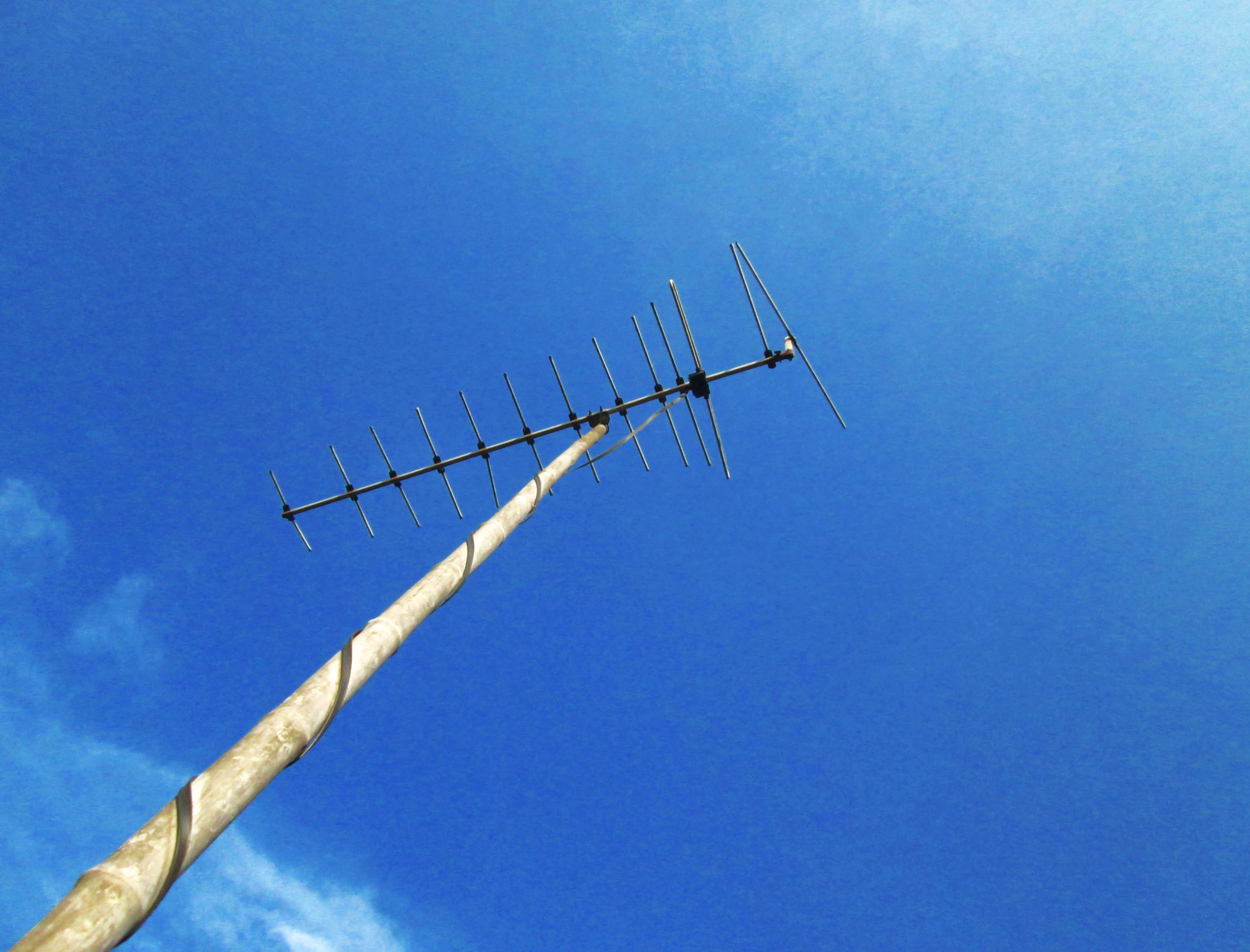 TV antenna, Antenna, Bluesky, Electronics, Sky, HQ Photo