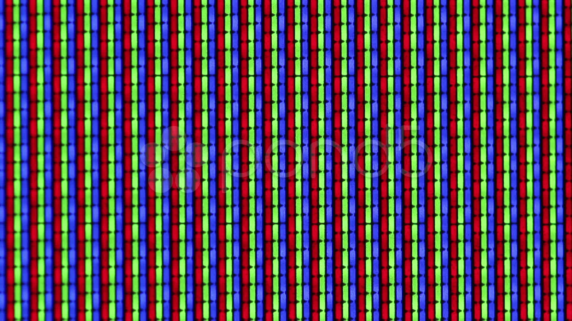 Abstract background of TV screen close-up ~ Video #10594095