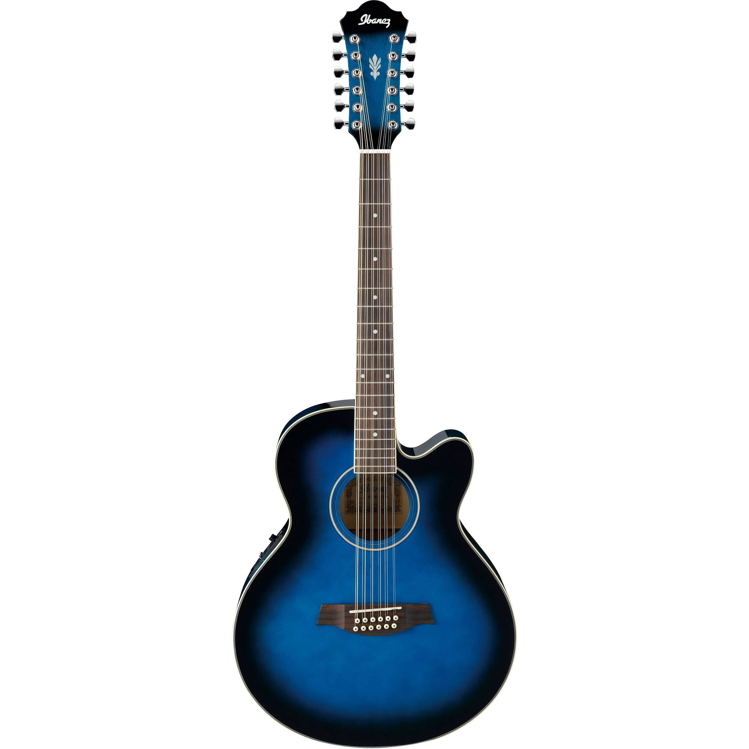 Ibanez AEL1512E Acoustic/Electric 12-String Guitar AEL1512ETBS