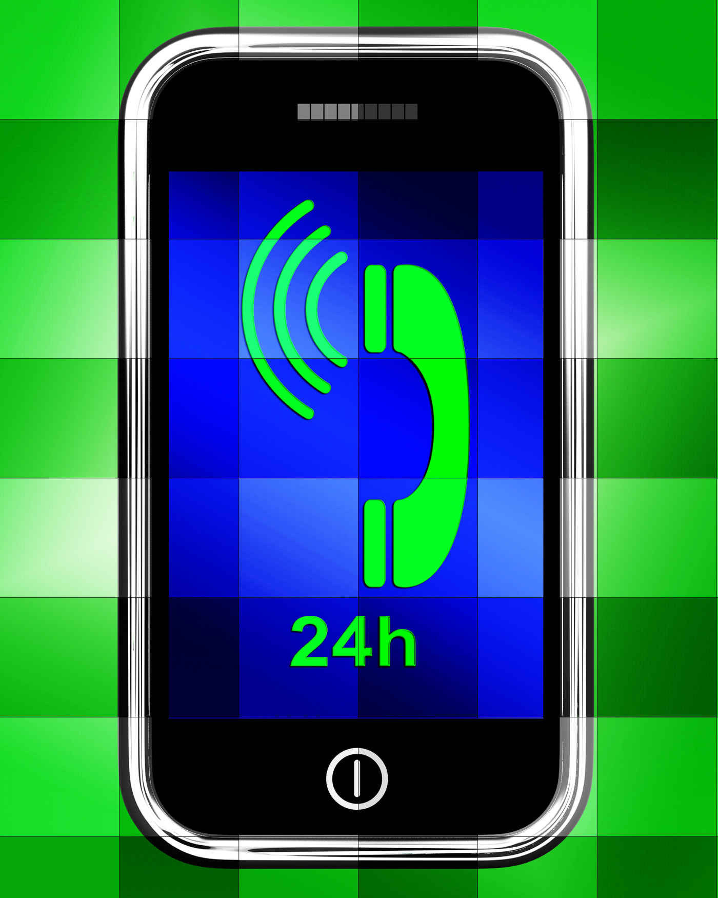 Twenty Four Hour On Phone Displays Open 24h, Internet, Web, Twentyfour, Smartphone, HQ Photo