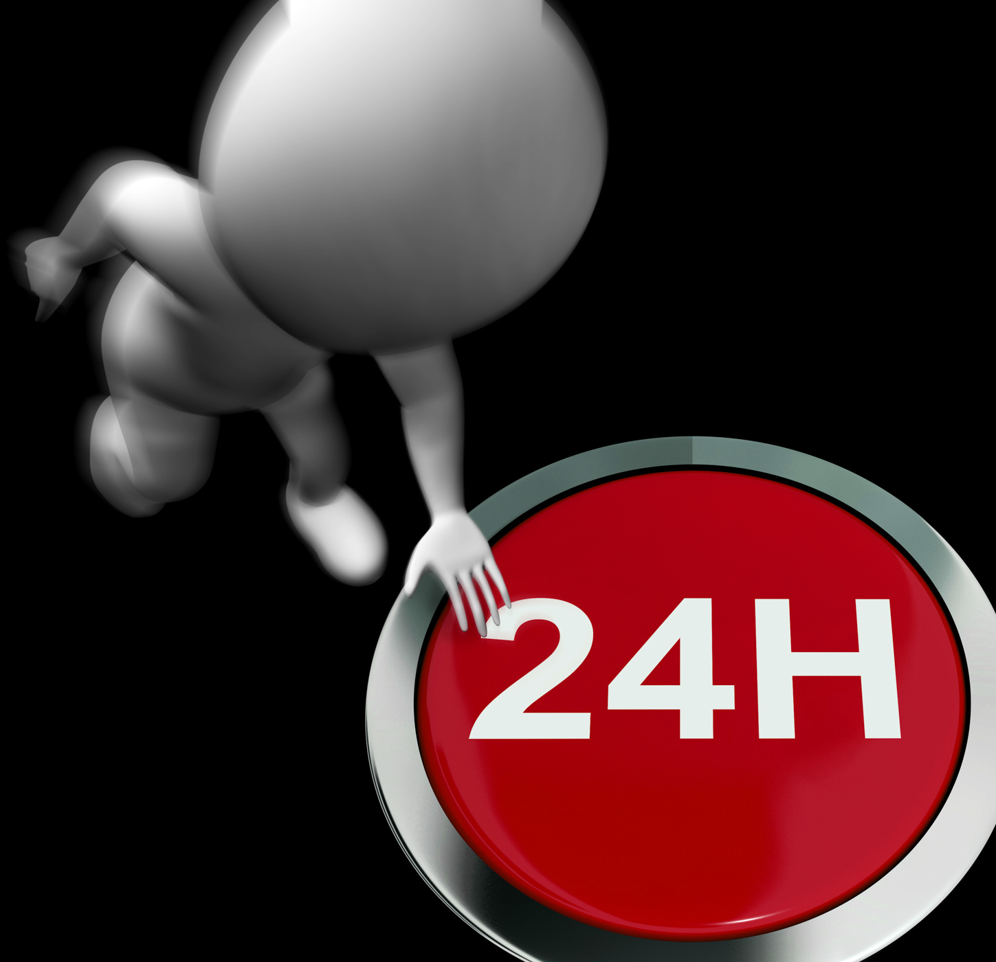 Twenty four hours pressed shows open 24h photo