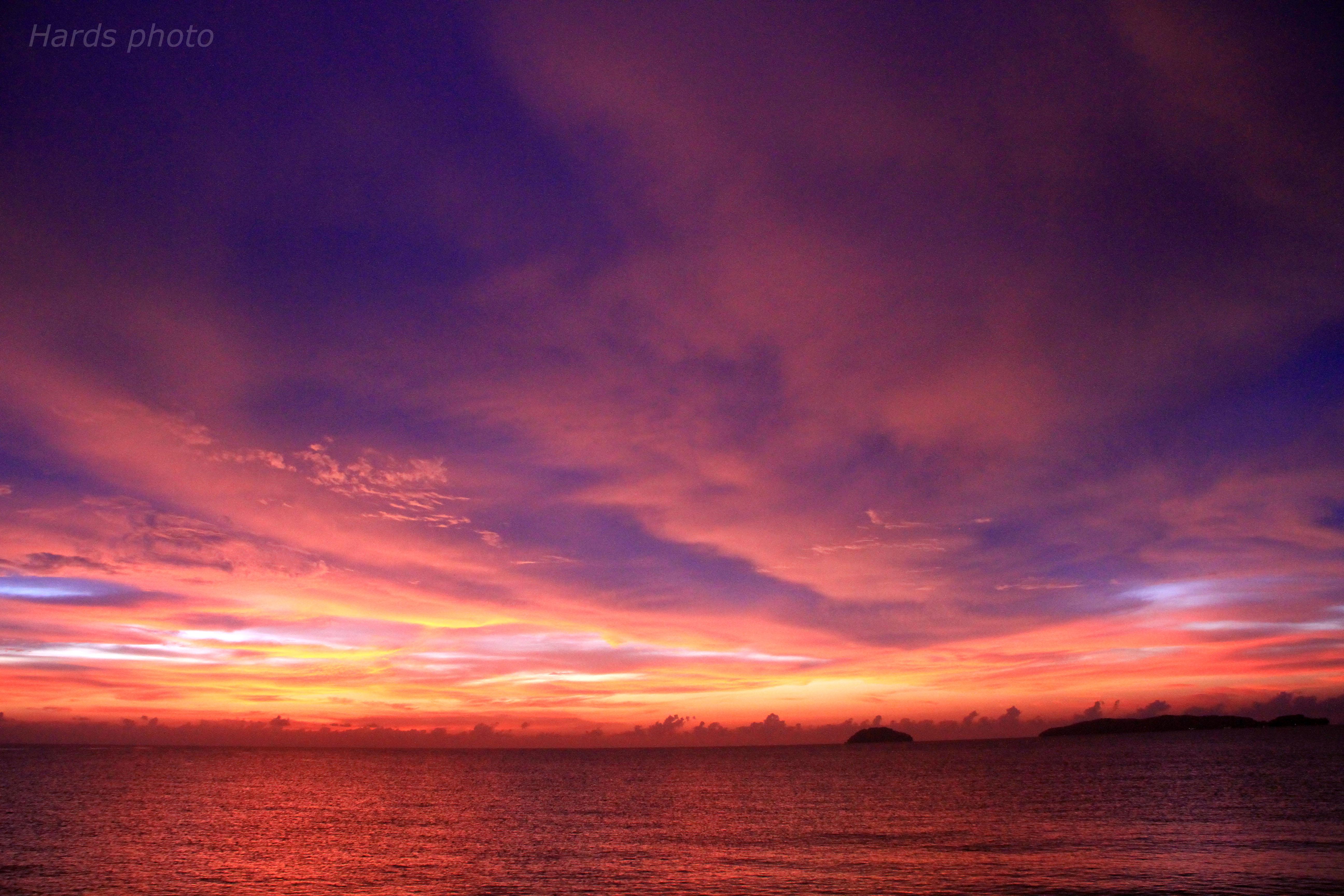 view of twilight   hazryh