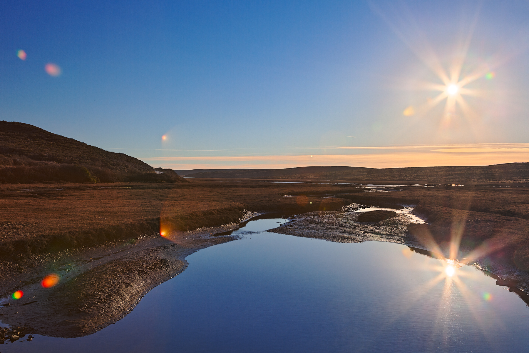 Twin Suns of Point Reyes - HDR, Resource, Spike, Somadjinn, Solar, HQ Photo