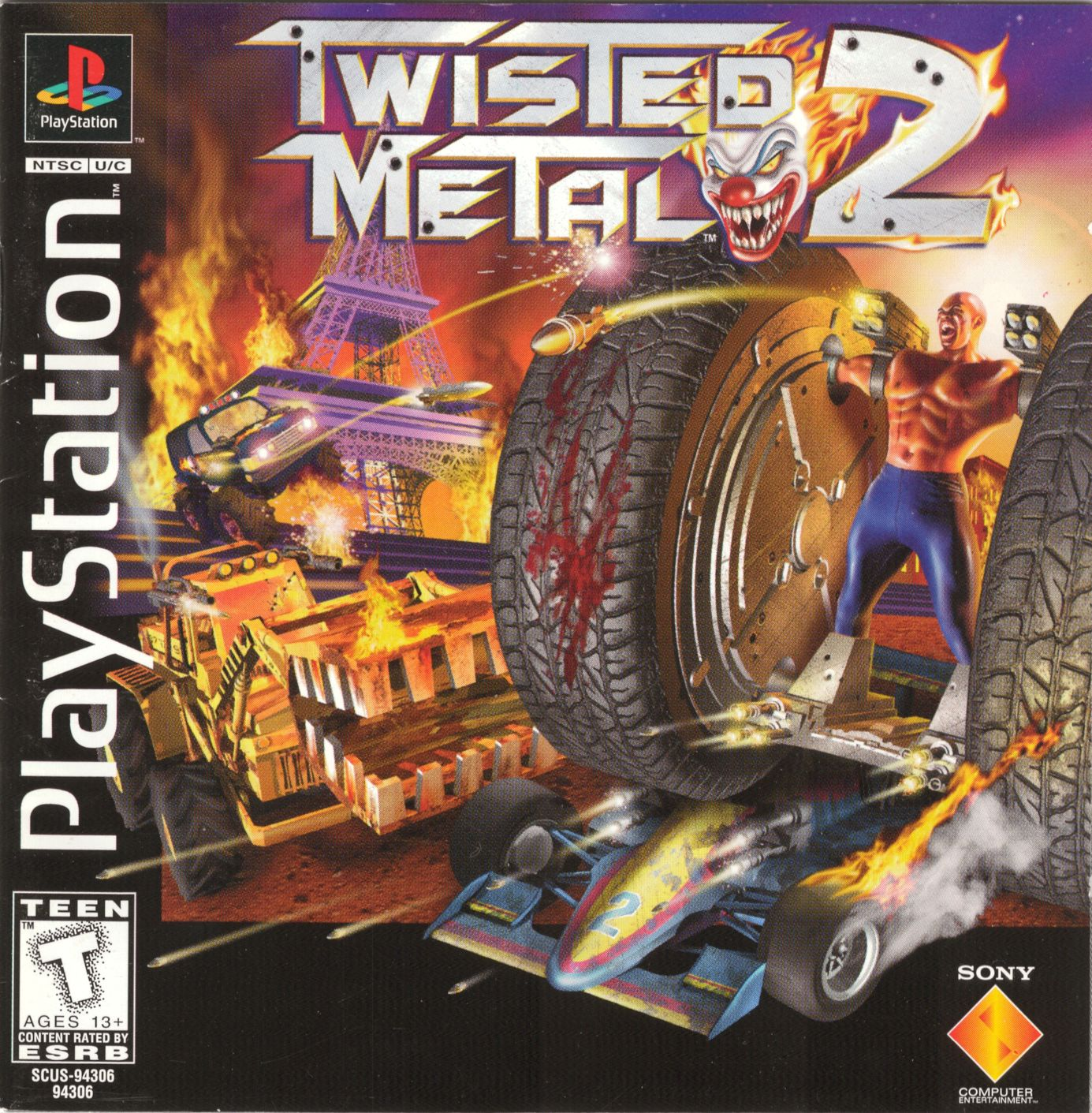 Twisted Metal 2 (USA) ROM > PSX/Playstation | LoveROMs.com