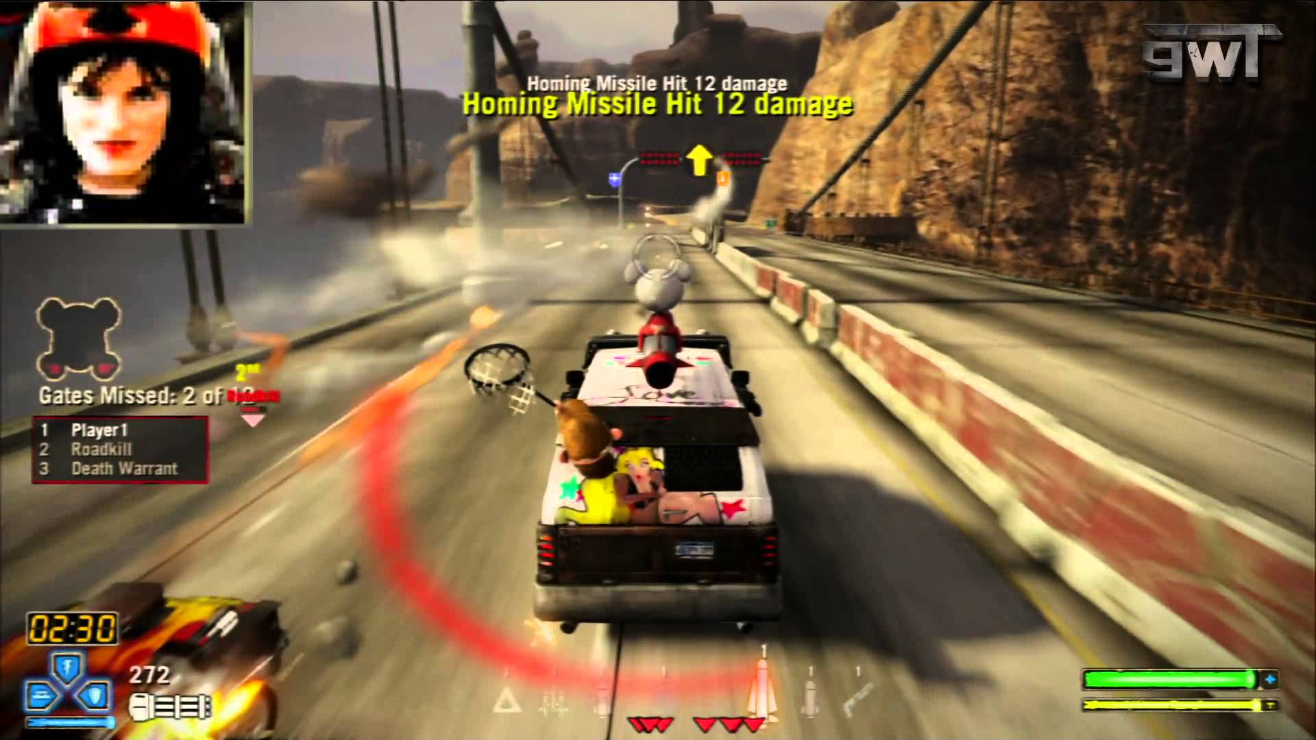 Carmageddon meets Twisted Metal - YouTube