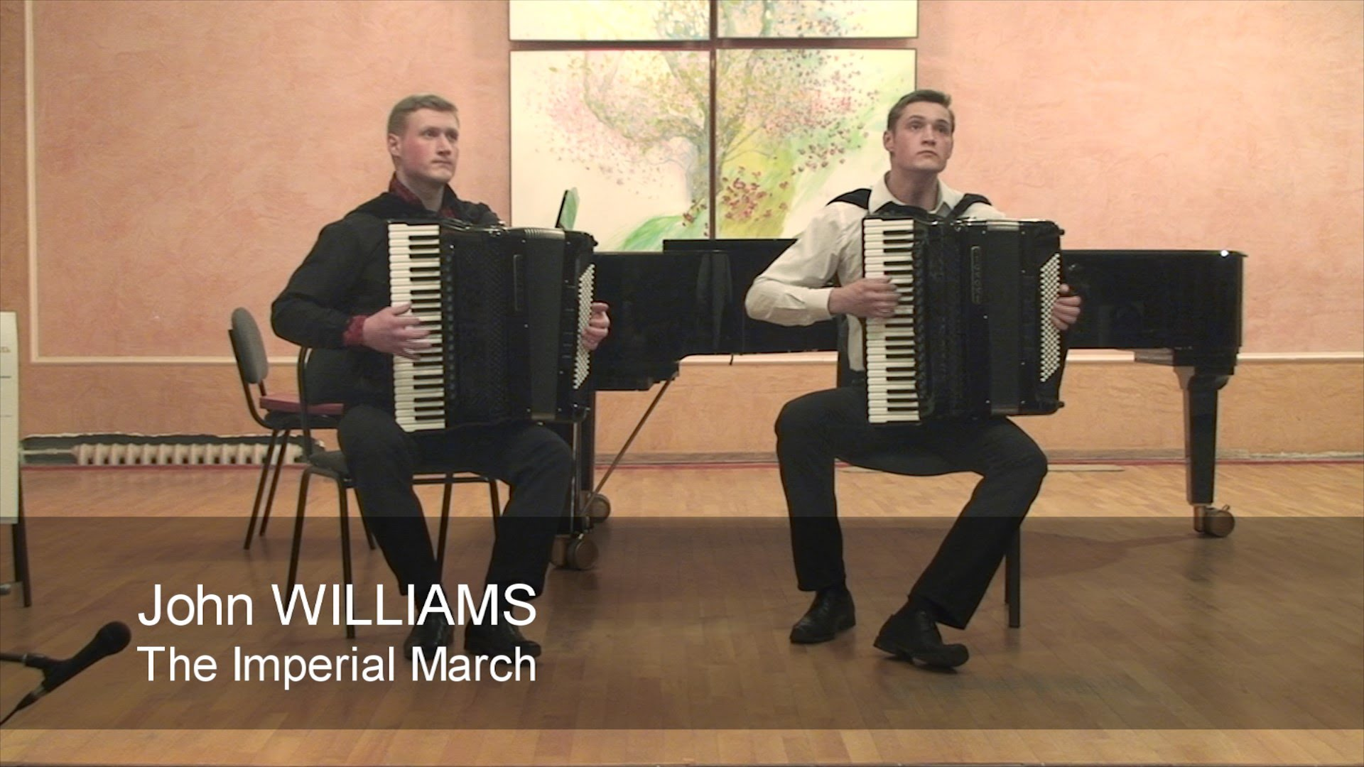 John Williams - The Imperial March (TWO ACCORDIONS) - YouTube
