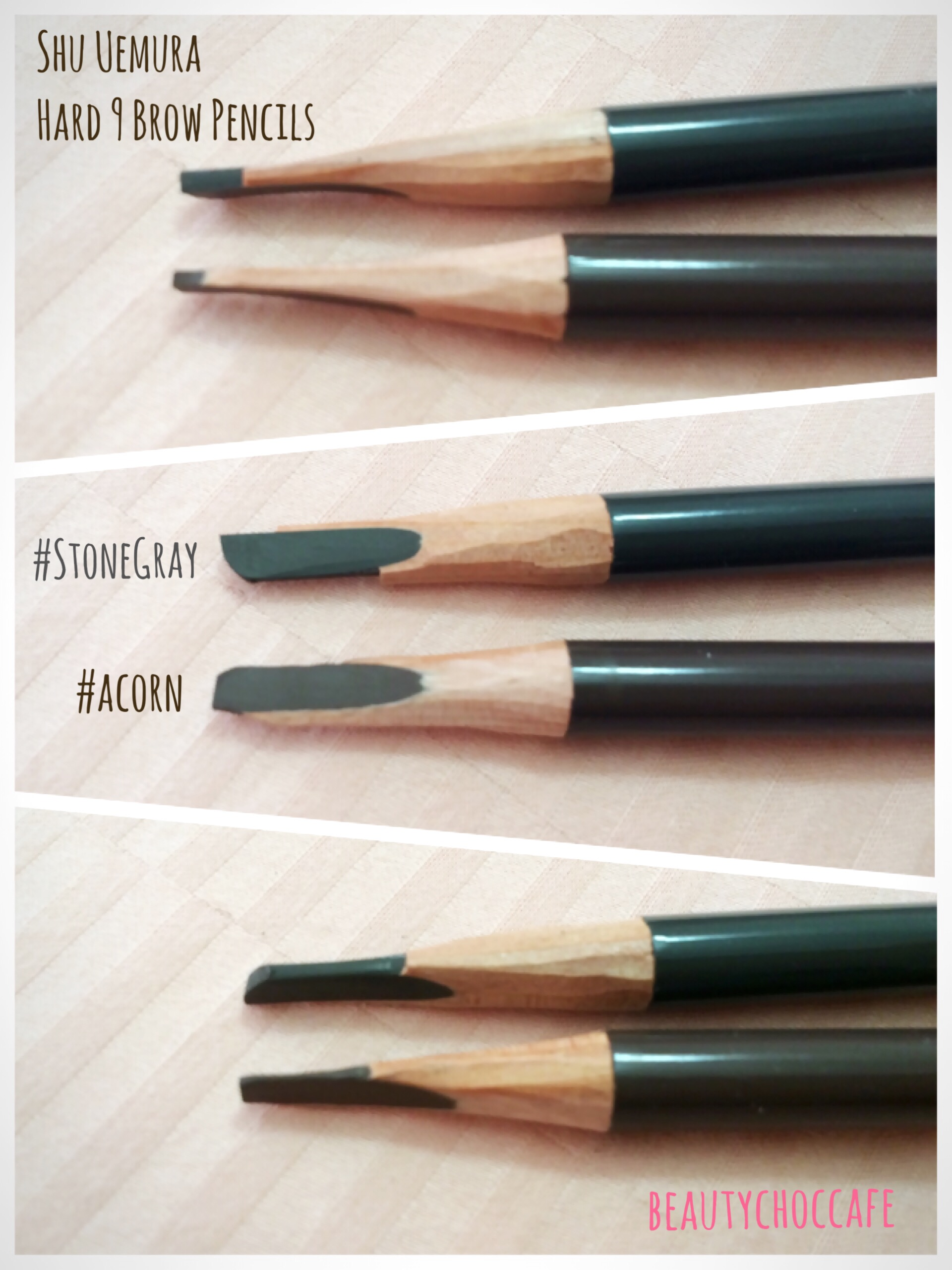 Review] Shu Uemura – Hard 9 Formula Brow Pencils in #Acorn ...