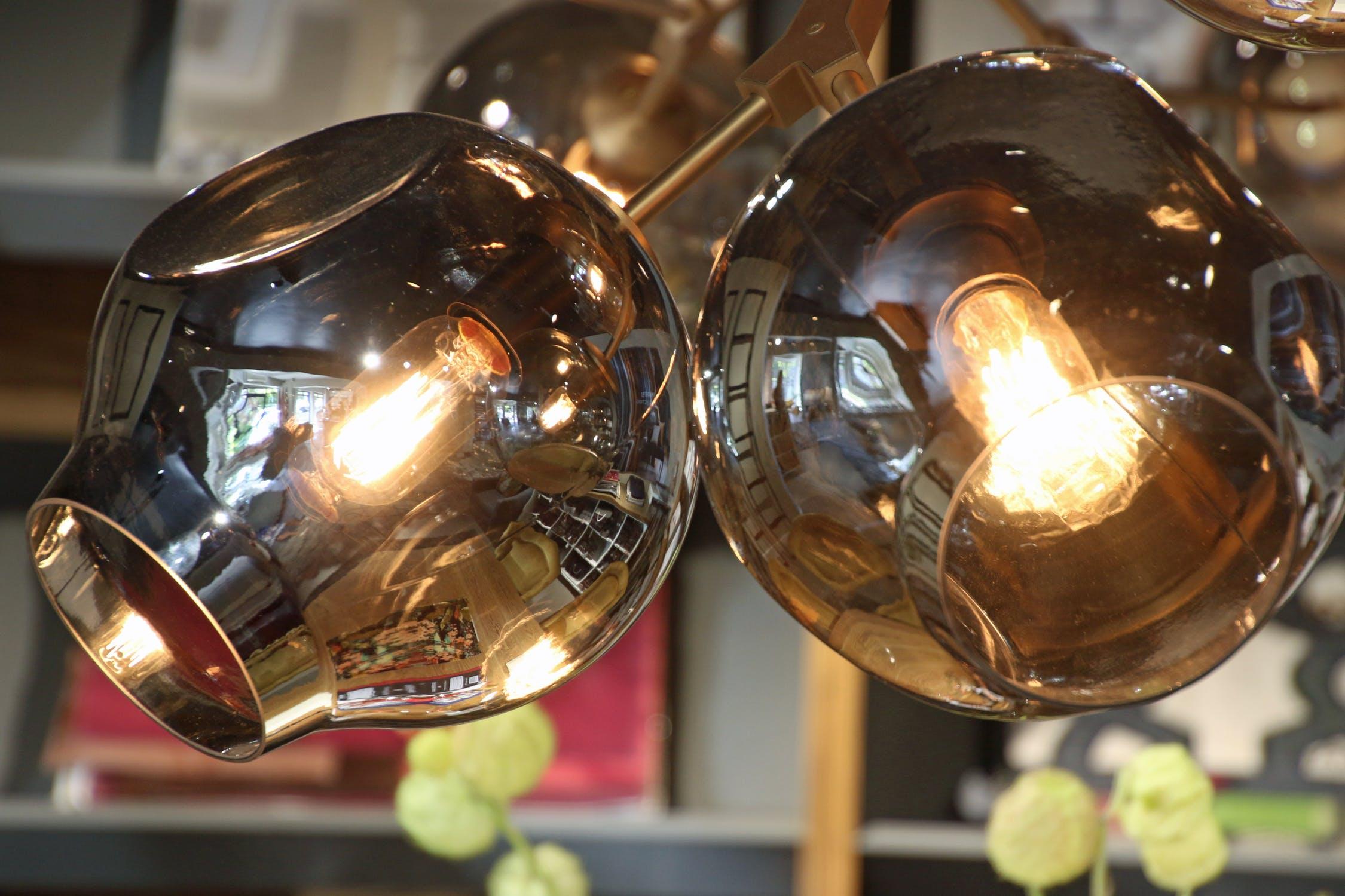 Two vintage bulbs photo