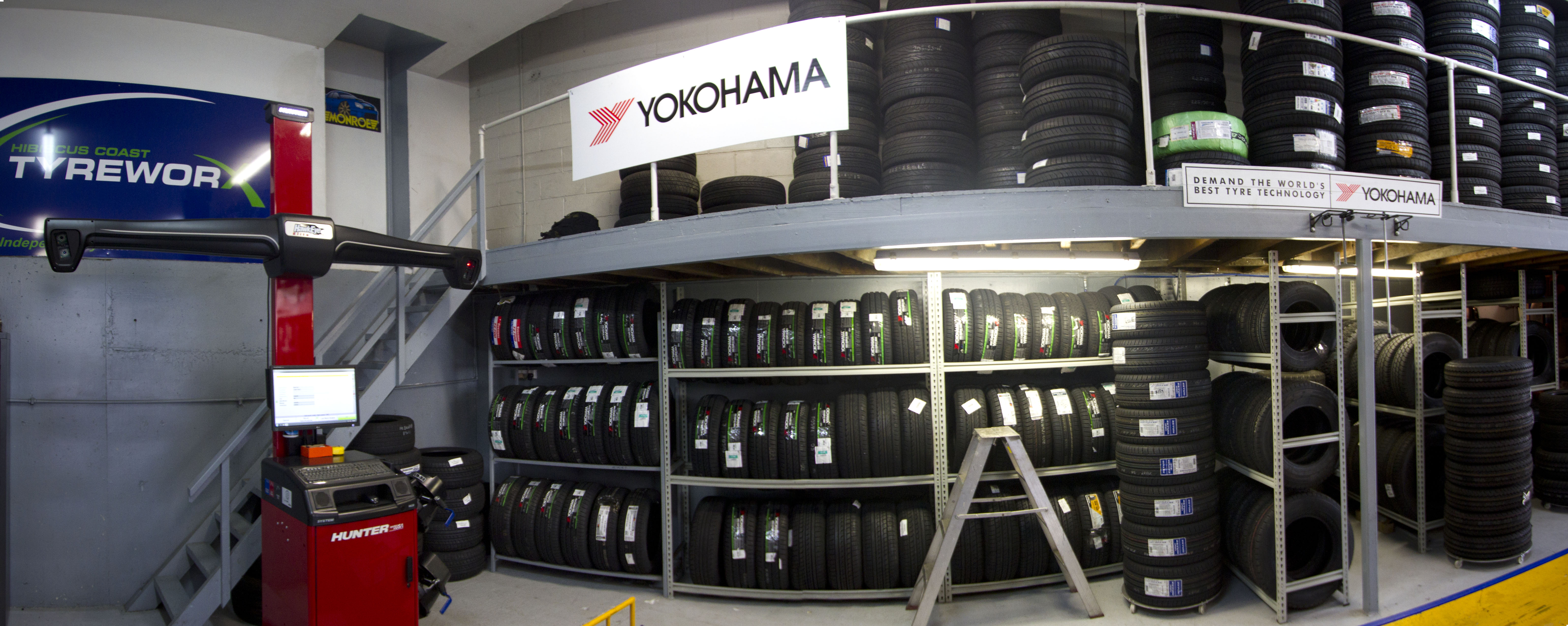 Tyre workshop photo