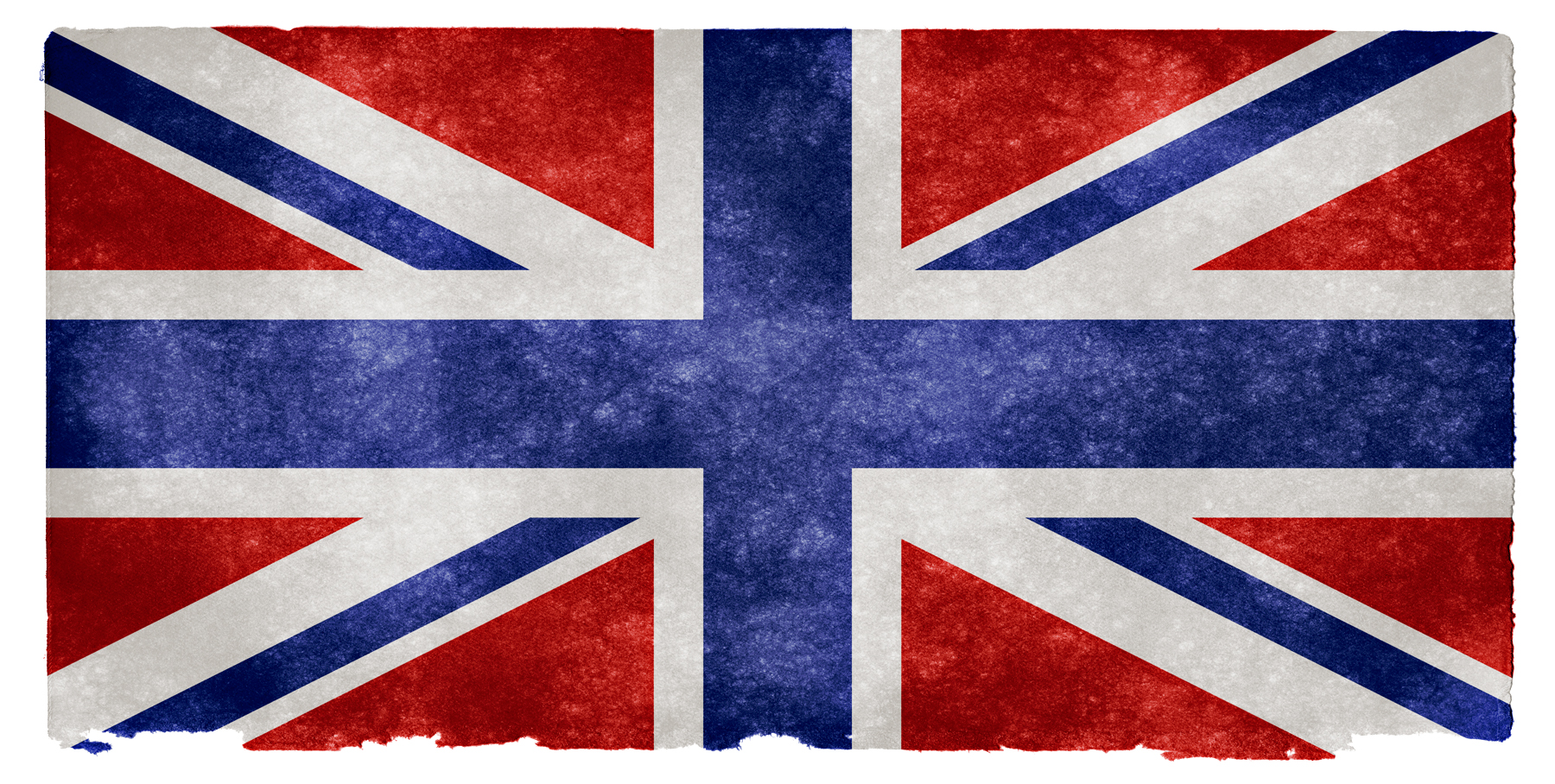 UK Grunge Flag - Inverted, Aged, Red, Inversion, Invert, HQ Photo