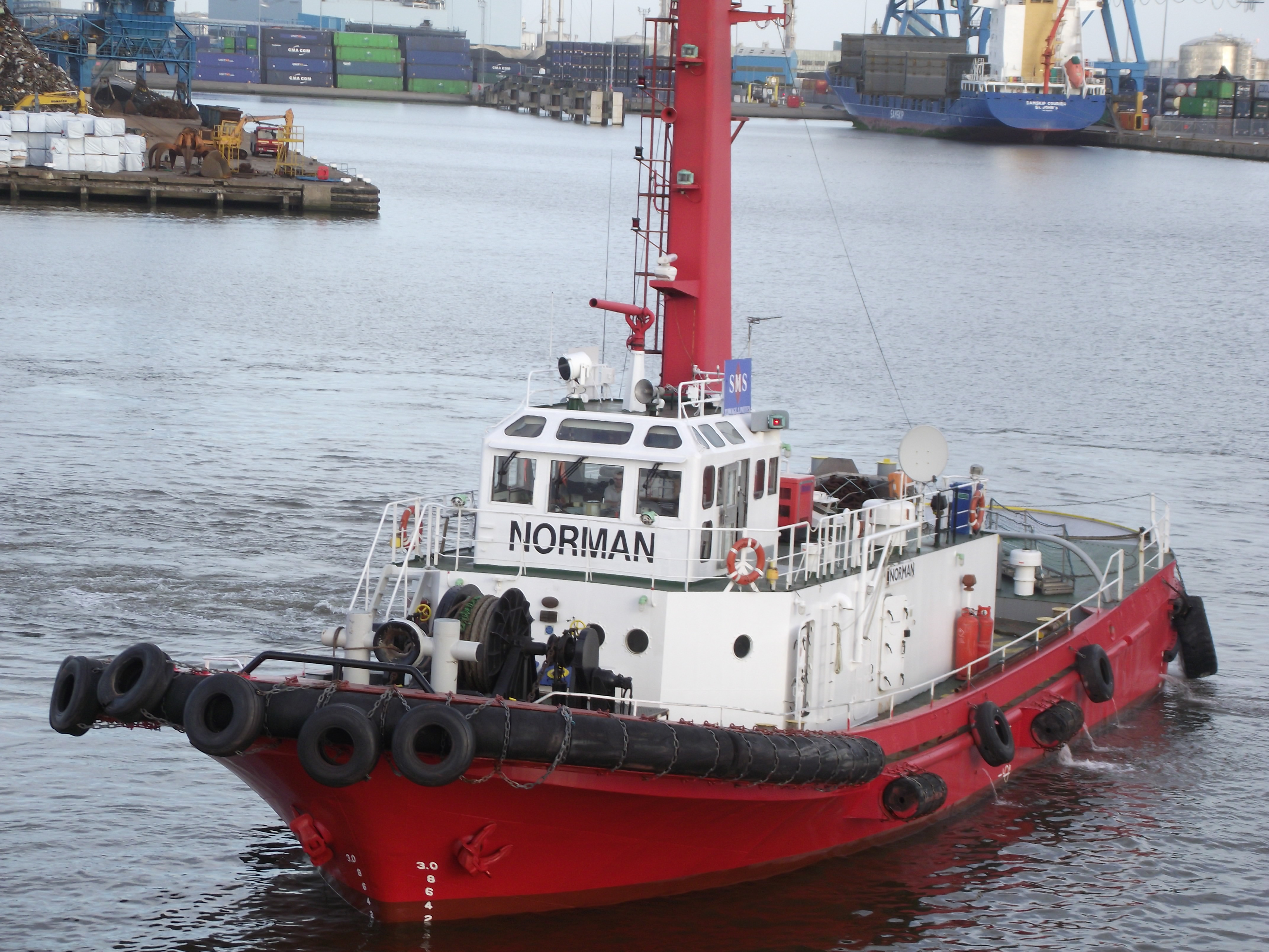 UK Tug boat, 2012, Boat, Dawn, England, HQ Photo