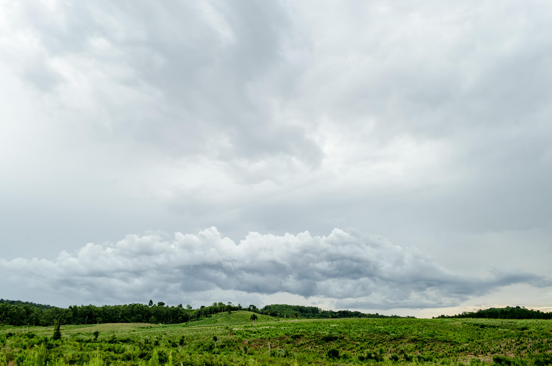 Un paseo con la nube photo