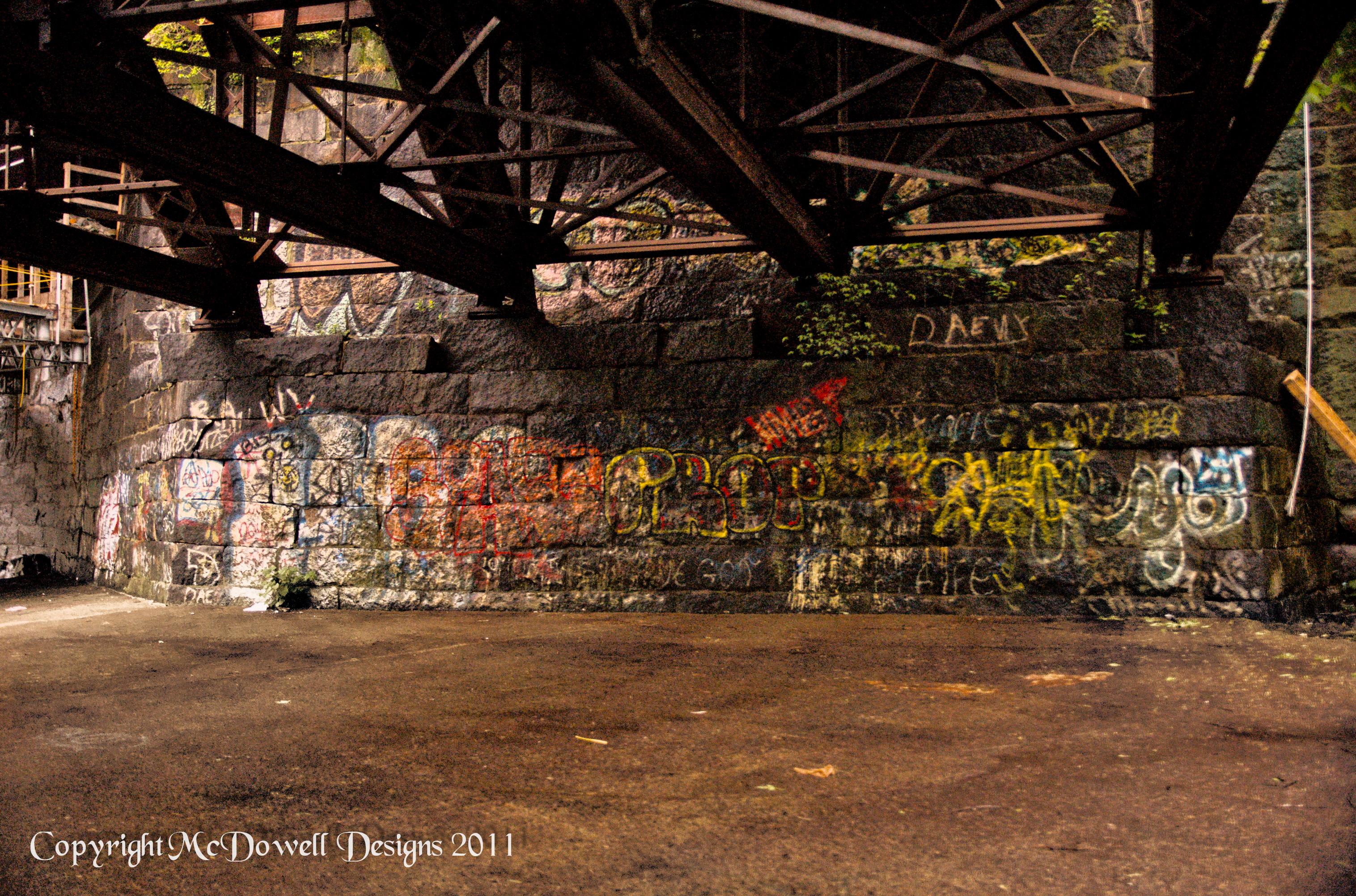 87. Under the Bridge   McDowell's Journey 365 Days of 2012