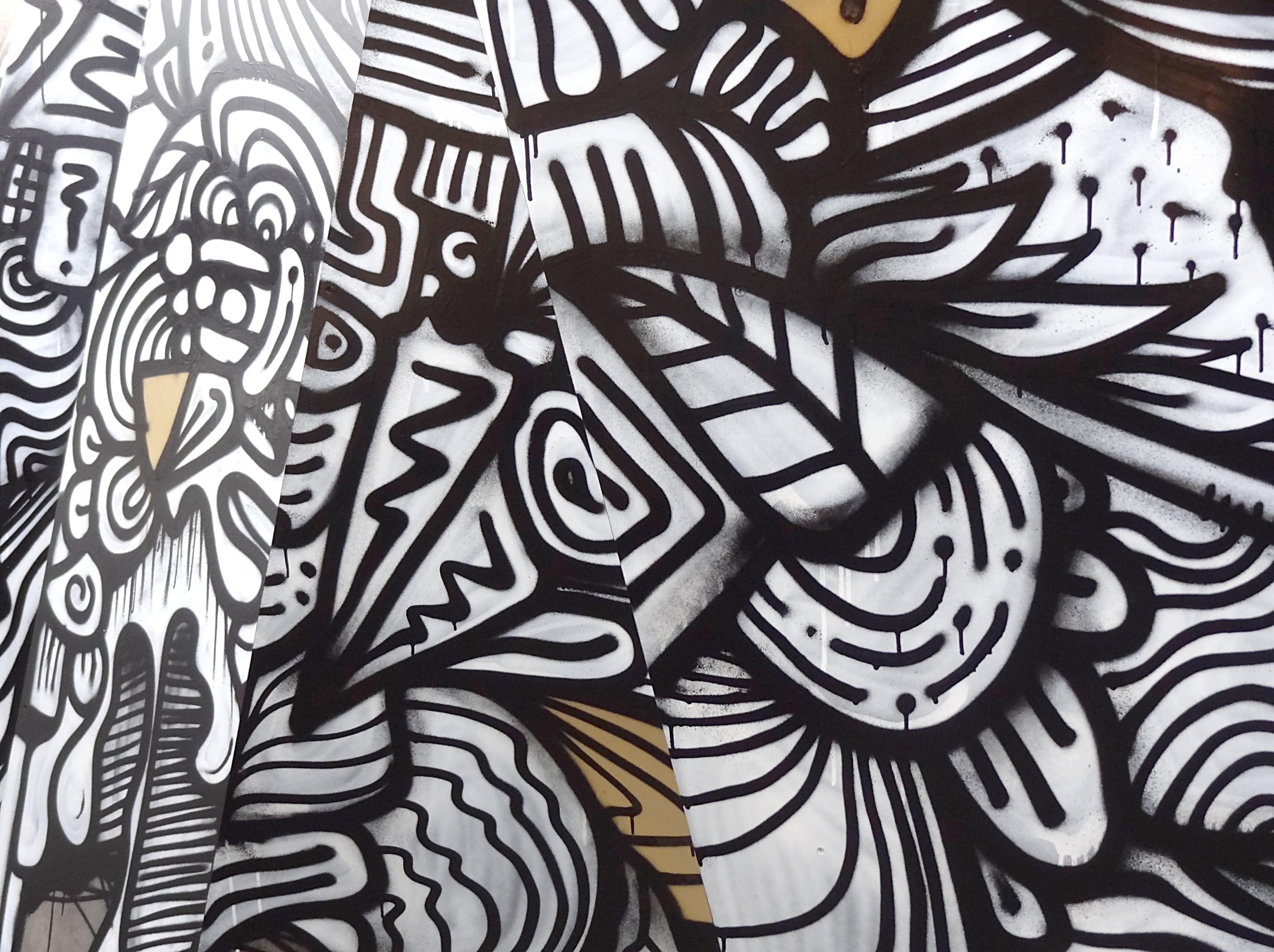 """Une vue de l'oeuvre de Hafem présentée dans le cadre de l'exposition """"Jardins secrets"""" à la Cité Nature d'Arras., Arras, Art, Cité Nature, France, HQ Photo"""