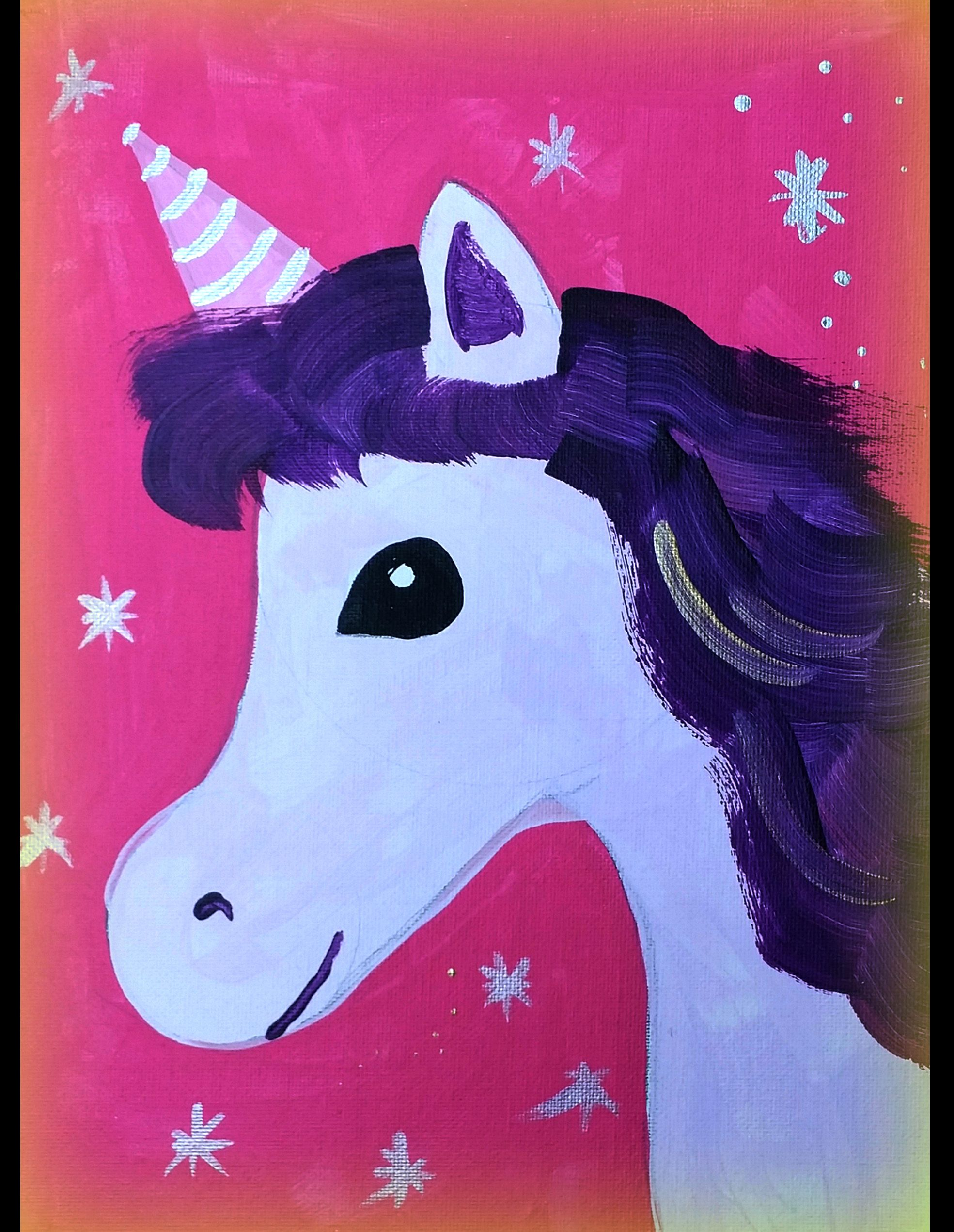Easy unicorn painting | Birthday Party ideas | Pinterest | Unicorn ...