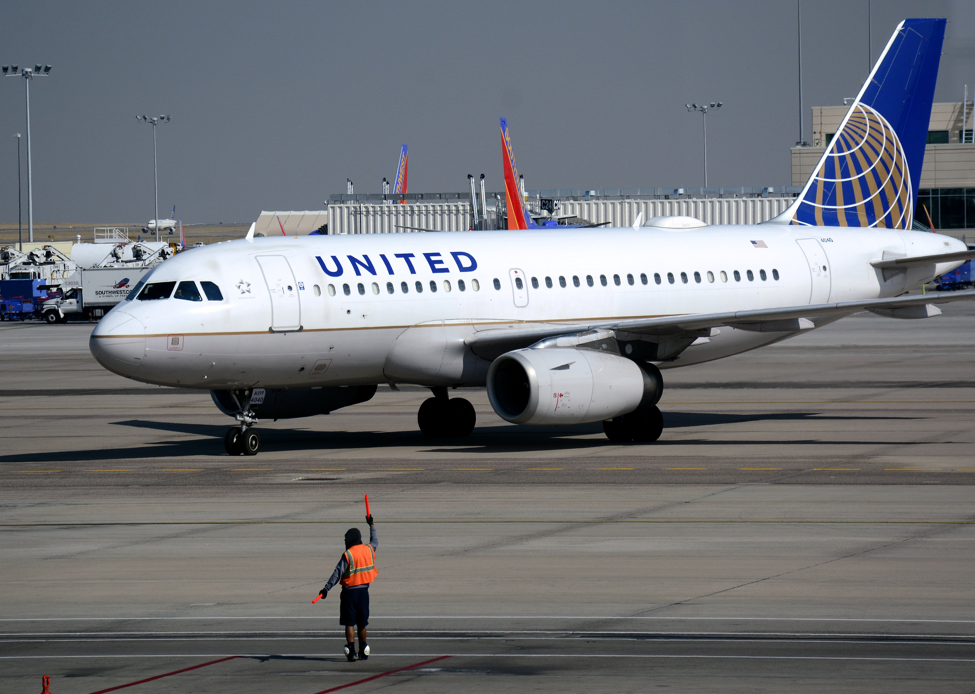United airline photo