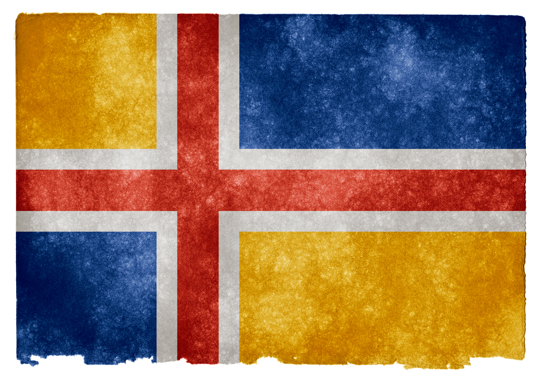 United scandinavia grunge flag photo