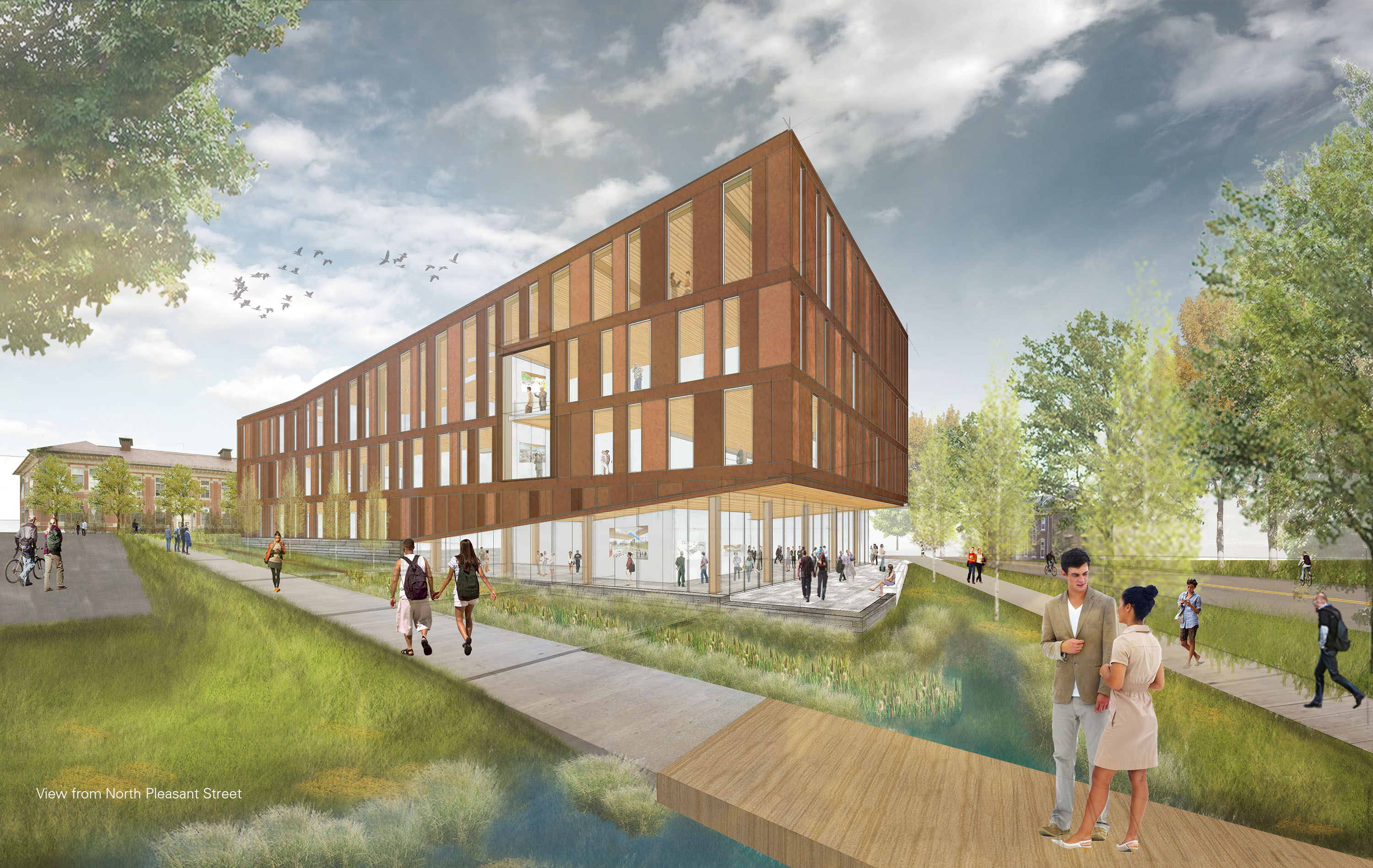 The John W. Olver Design Building at UMass Amherst | Building and ...
