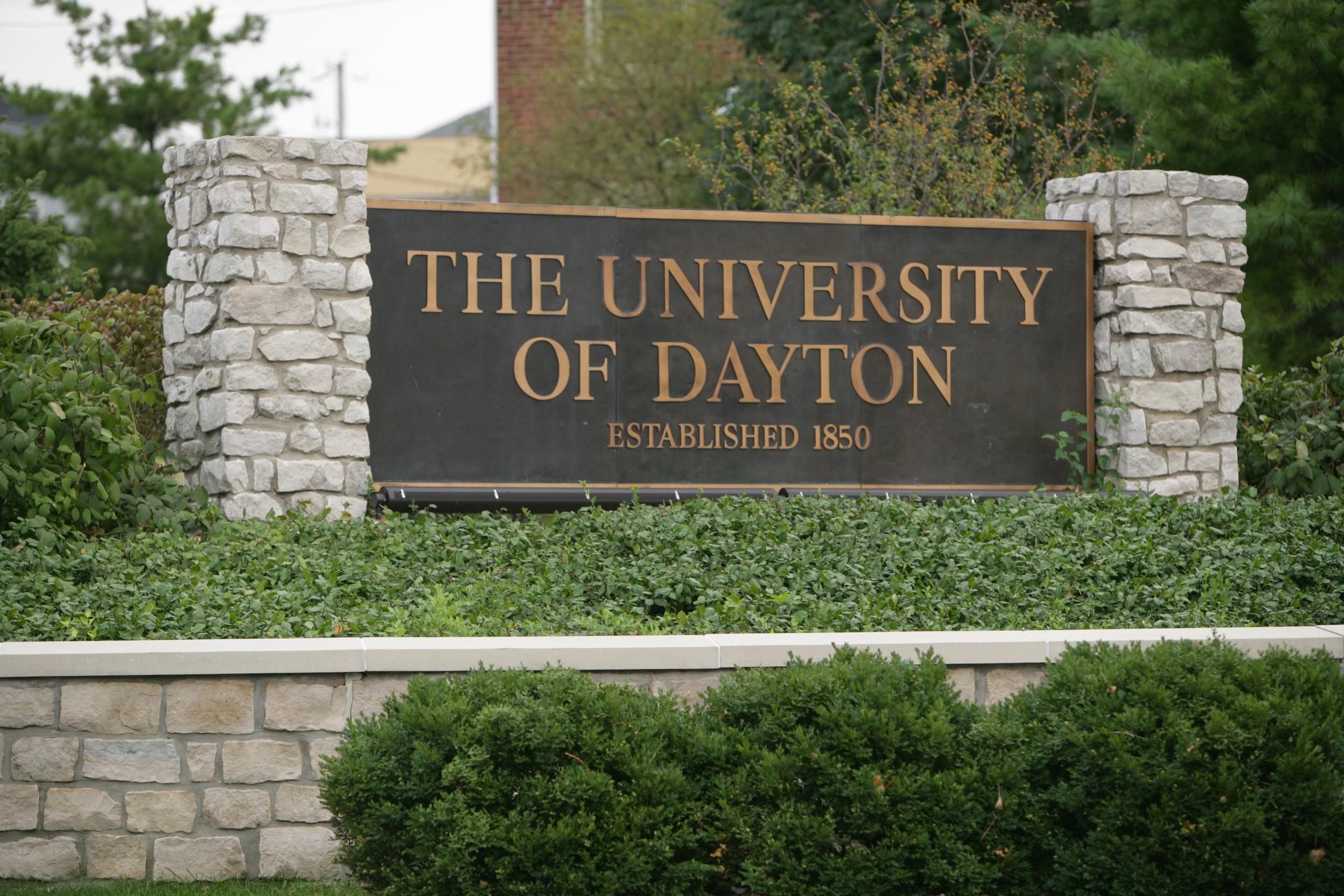 University sign photo