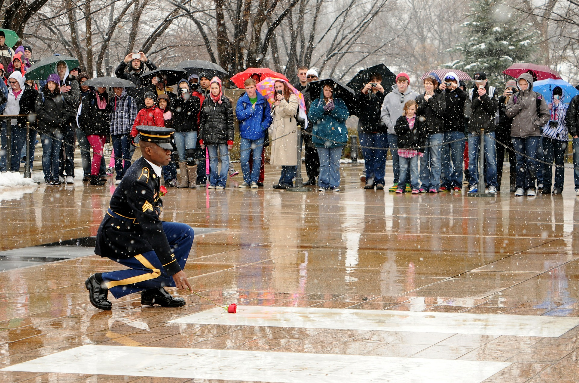 Unknown Soldier Tomb, Grave, People, Silence, Soldier, HQ Photo