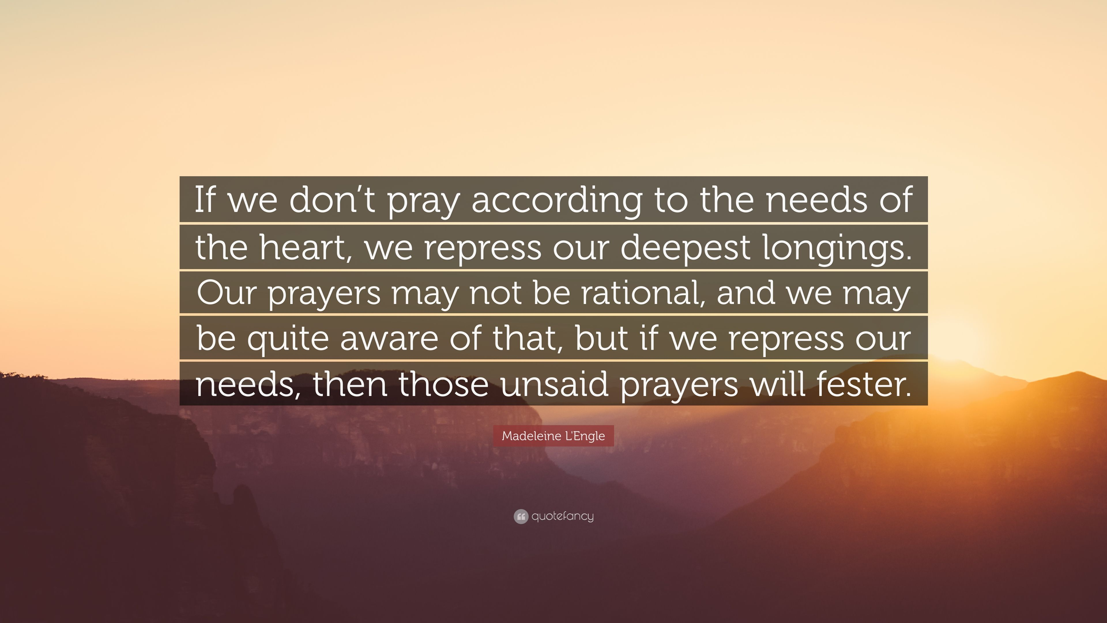 Unsaid prayers photo