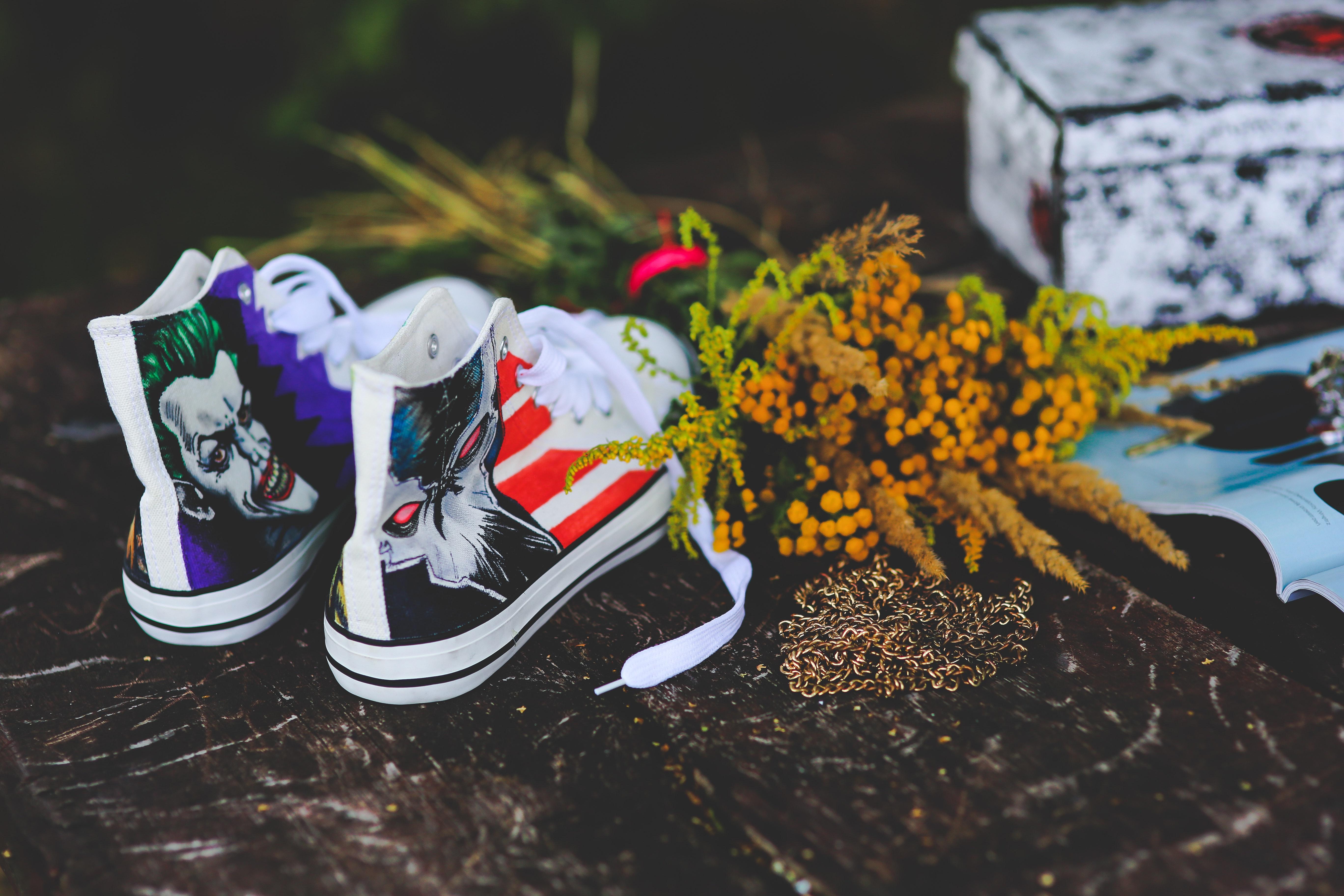 Unusual sneakers photo