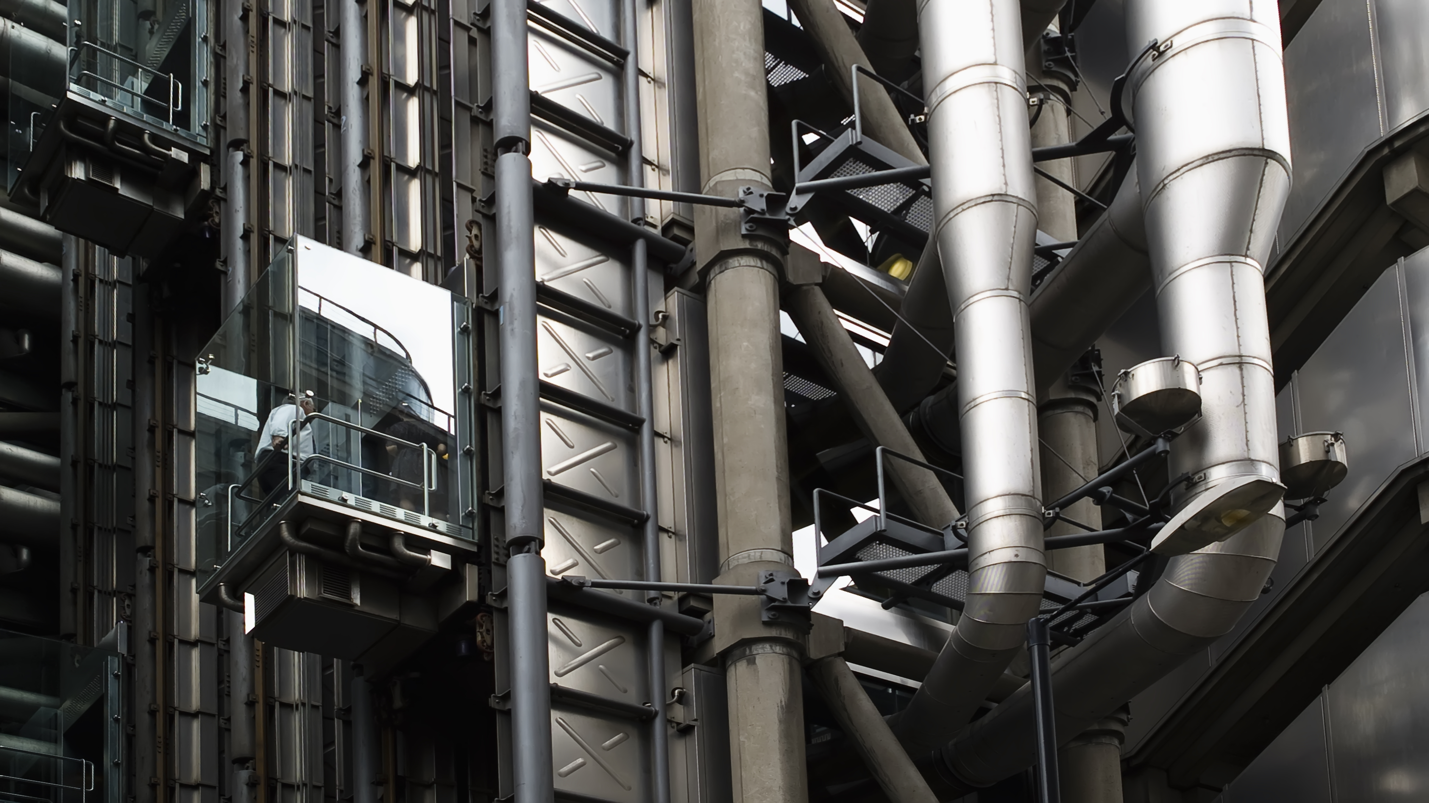 Up and Down in the City, Bogaert, Building, Elevator, Industrial, HQ Photo