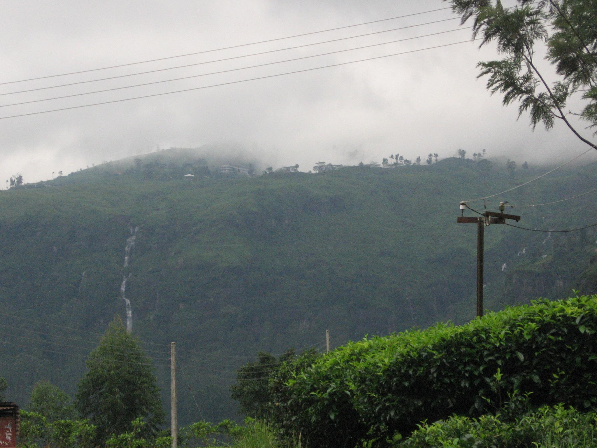 Upcountry scene in sri laka photo