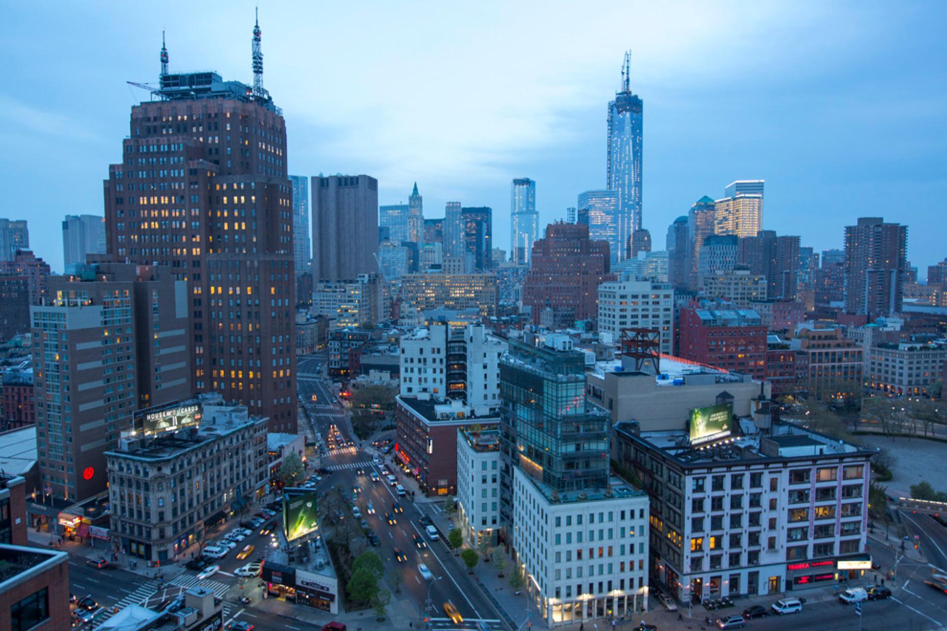 Free photo: City Landscape - Architecture, Scenic ...