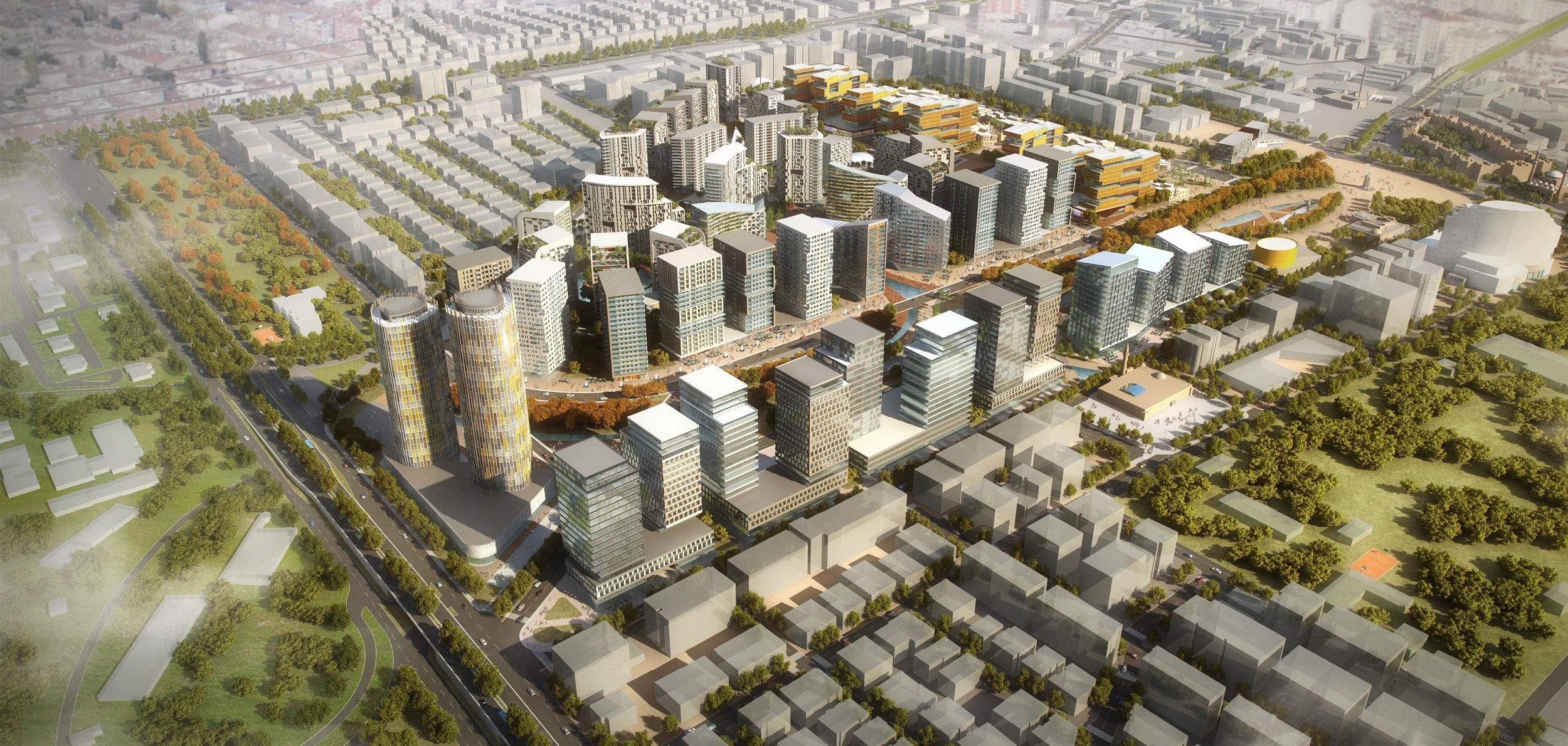 Kayseri Sahabiye Urban Design