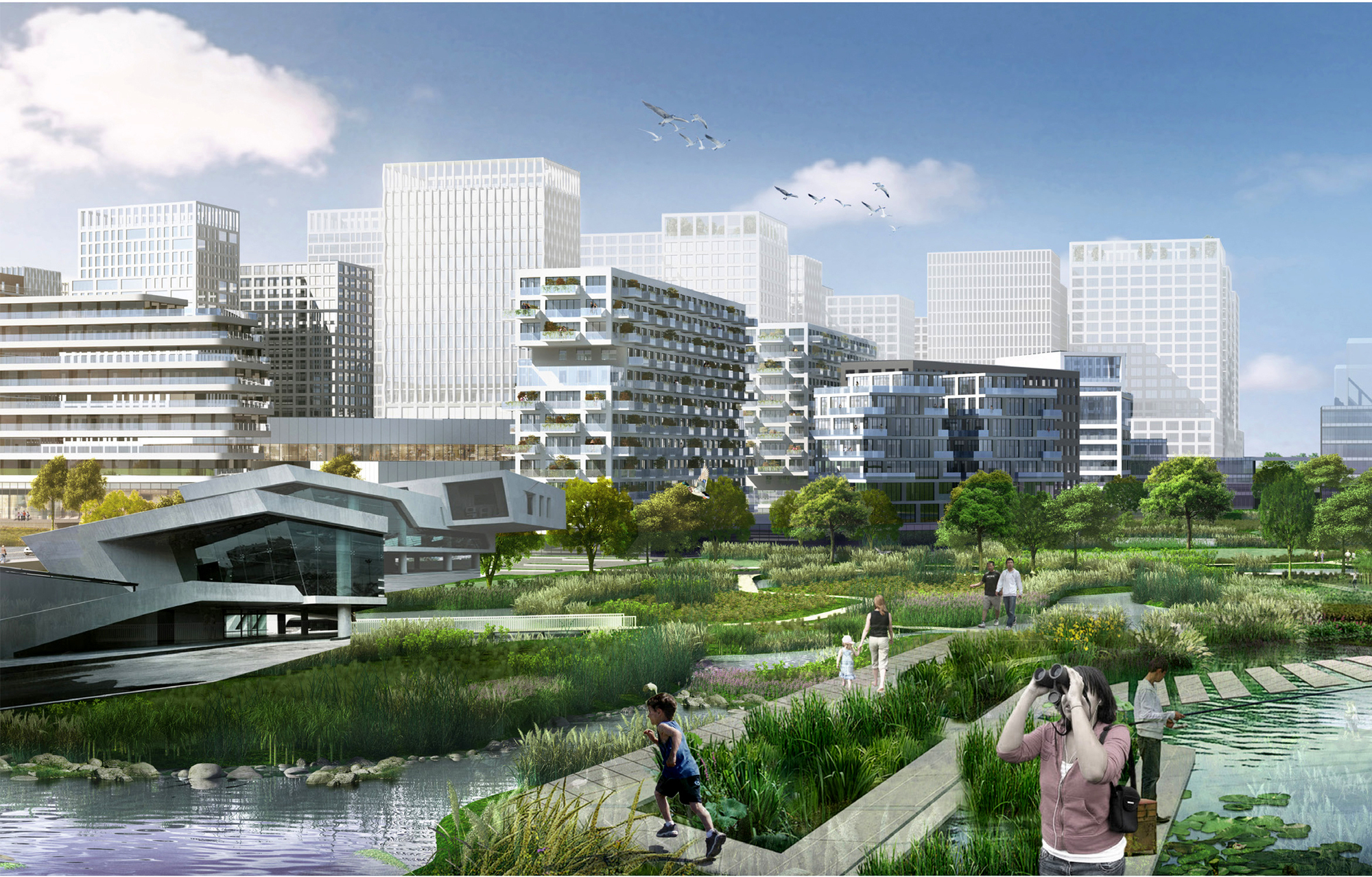 Gallery of MLA+ and CAUPD Win Urban Design Competition to Regenerate ...