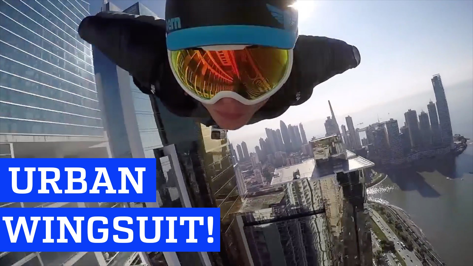 Urban Wingsuit Flying by Skyscrapers | PEOPLE ARE AWESOME - YouTube