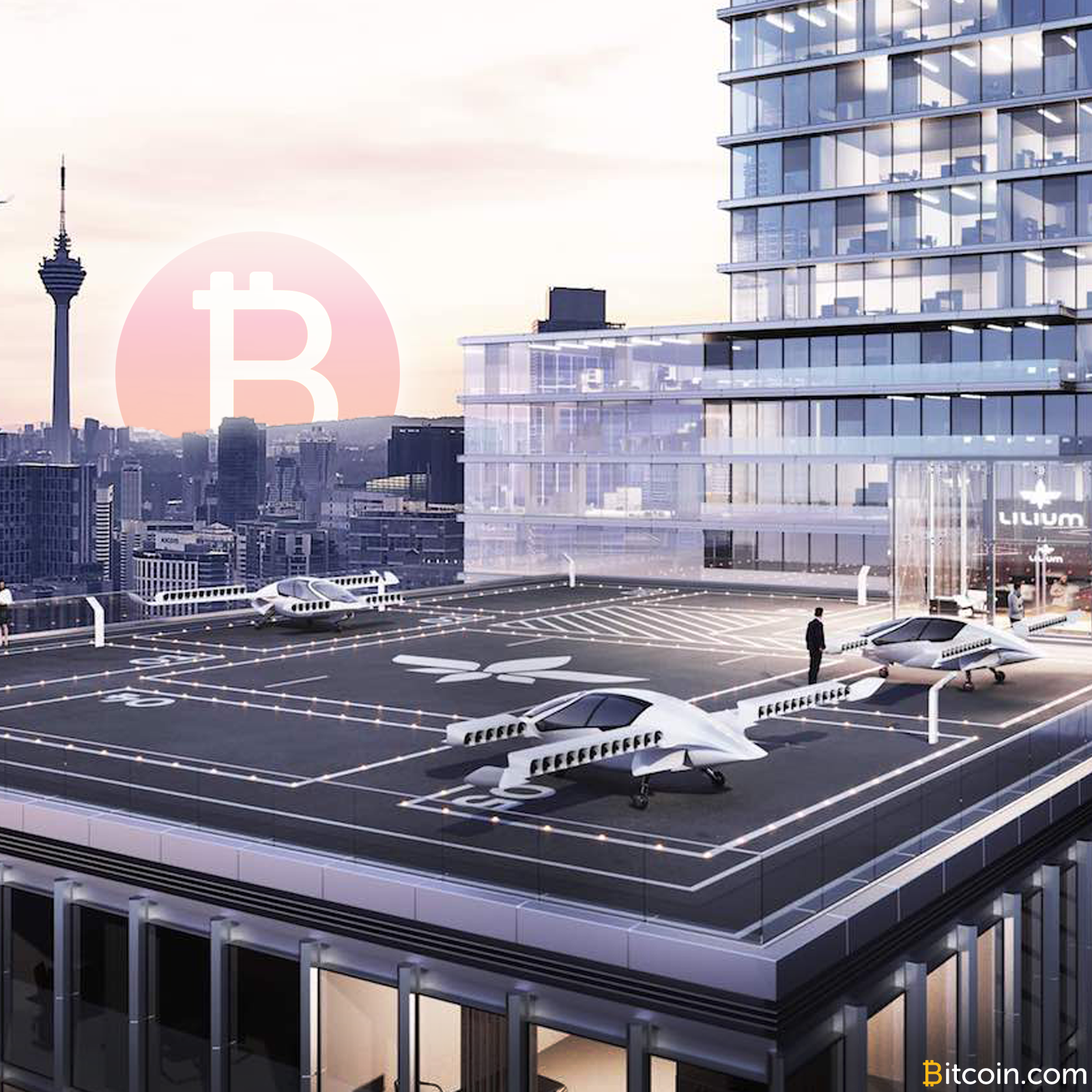 Bitcoin-Friendly Companies Enter the Flying Taxi Business - Bitcoin News