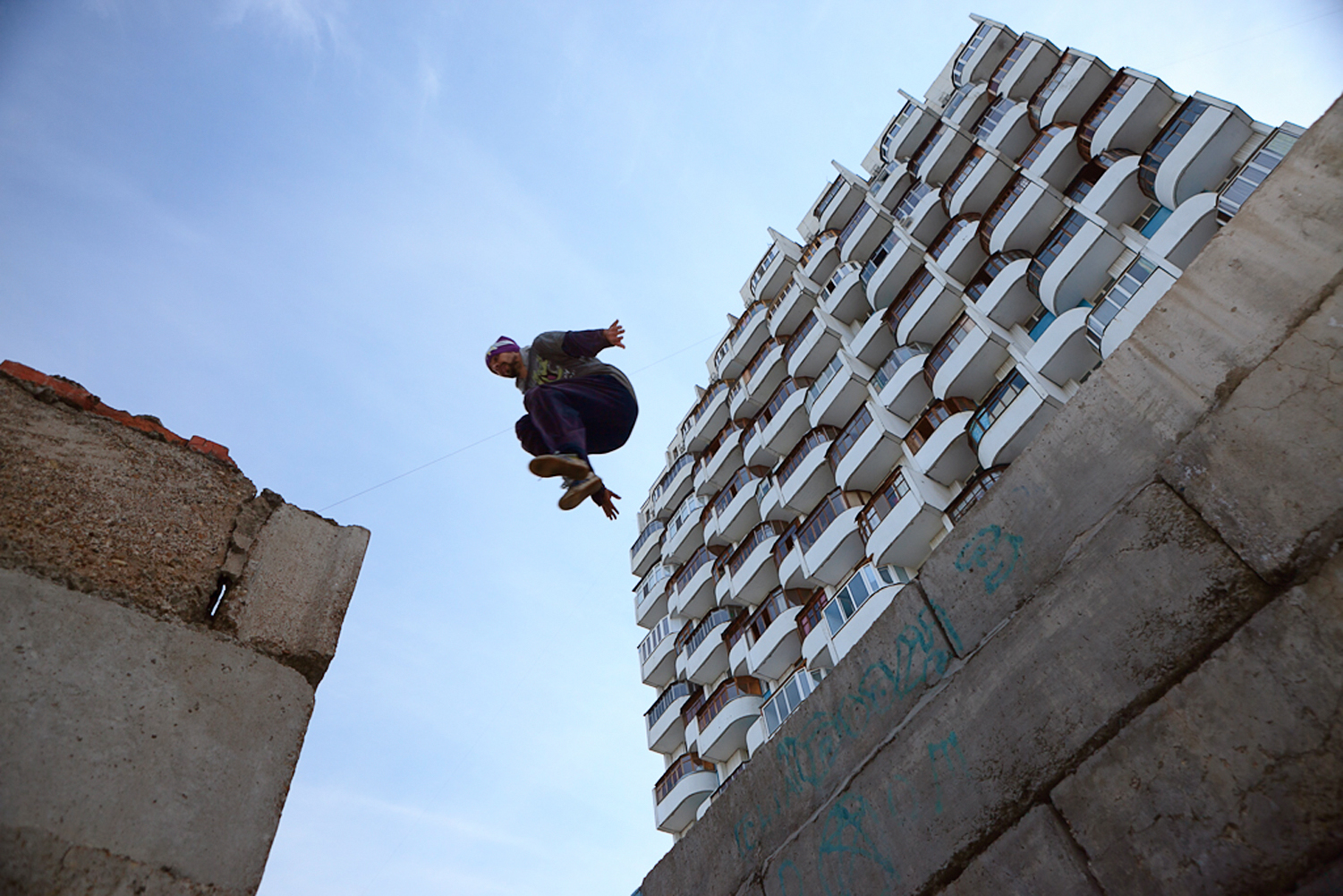 urban flying man, Action, Over, Training, Strength, HQ Photo