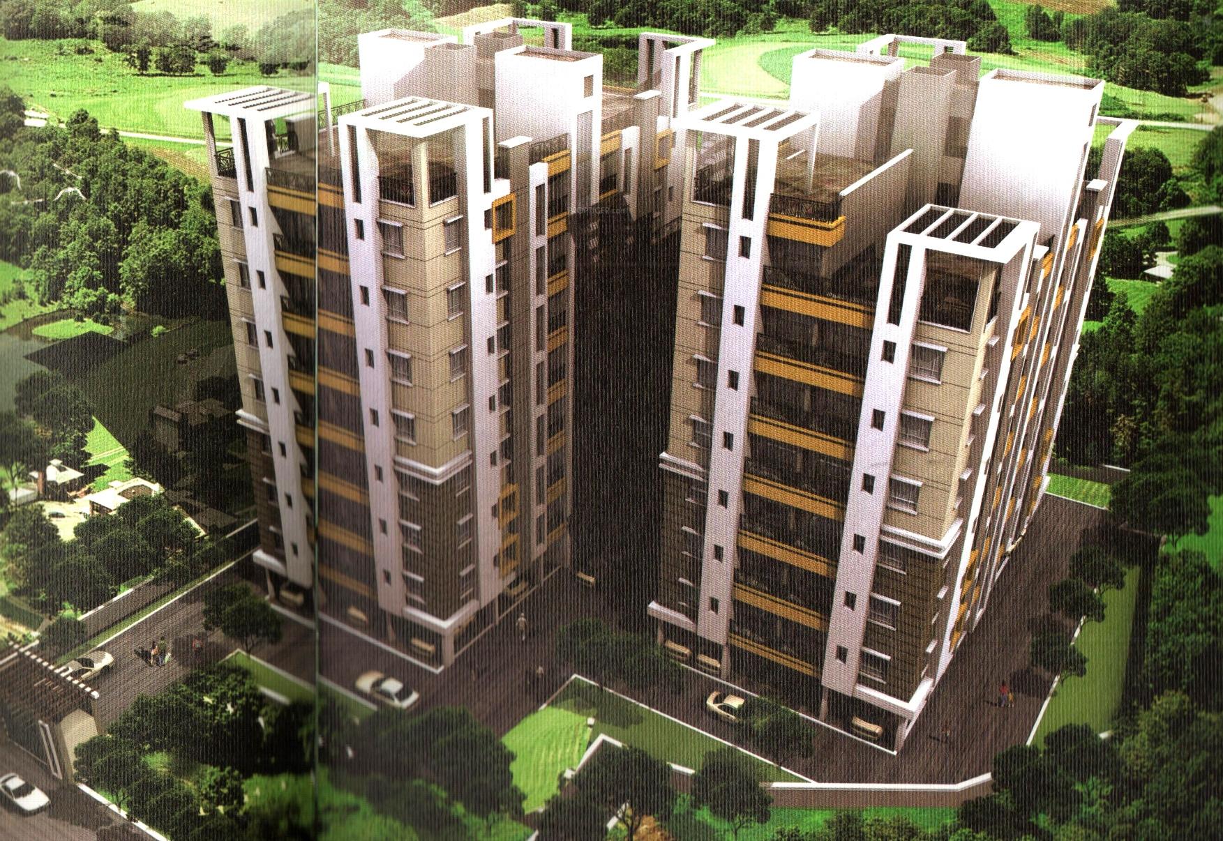 Vriddhi Urban Heights in Kasba, Kolkata - Price, Location Map, Floor ...