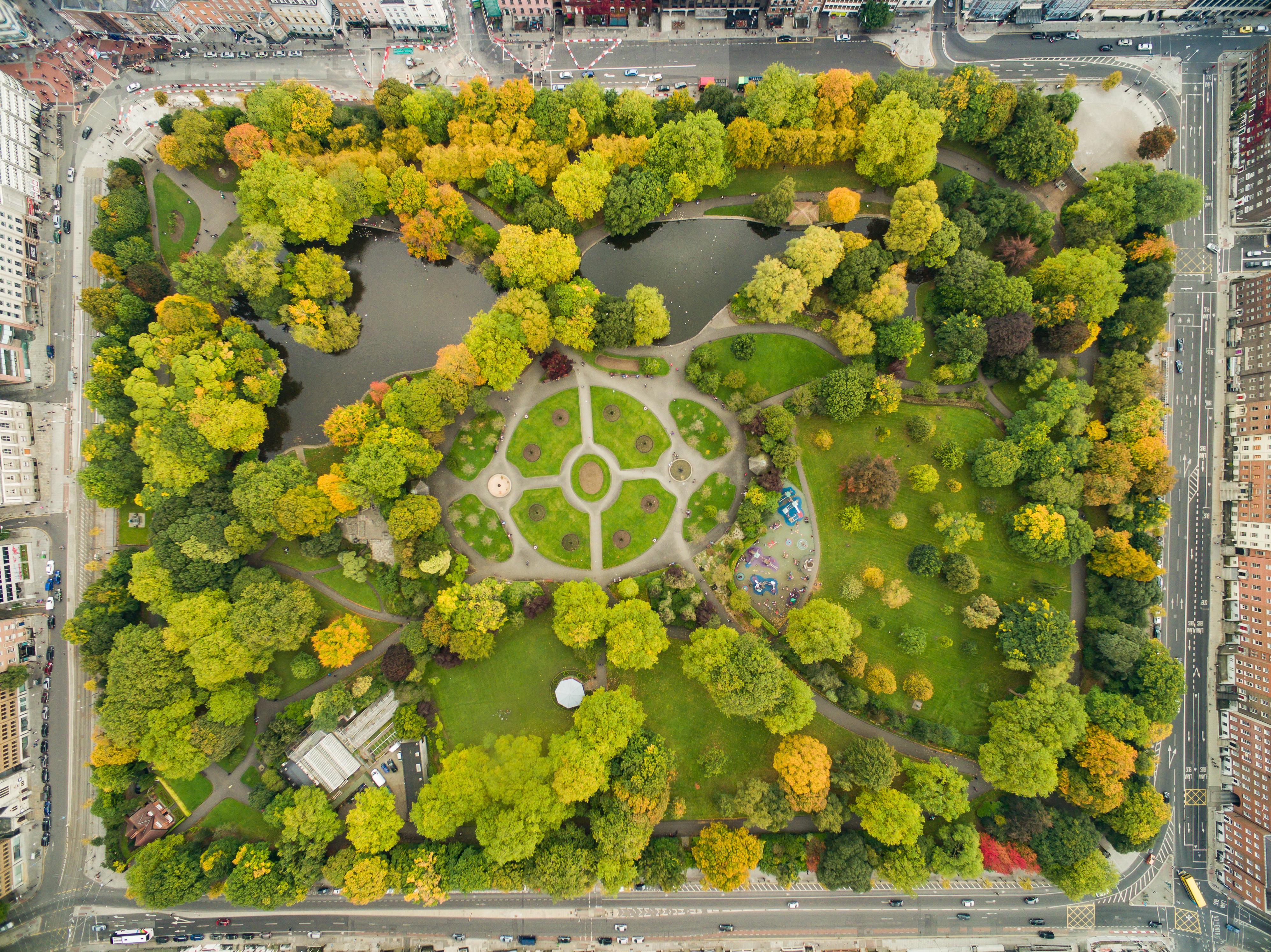 Urban park photo