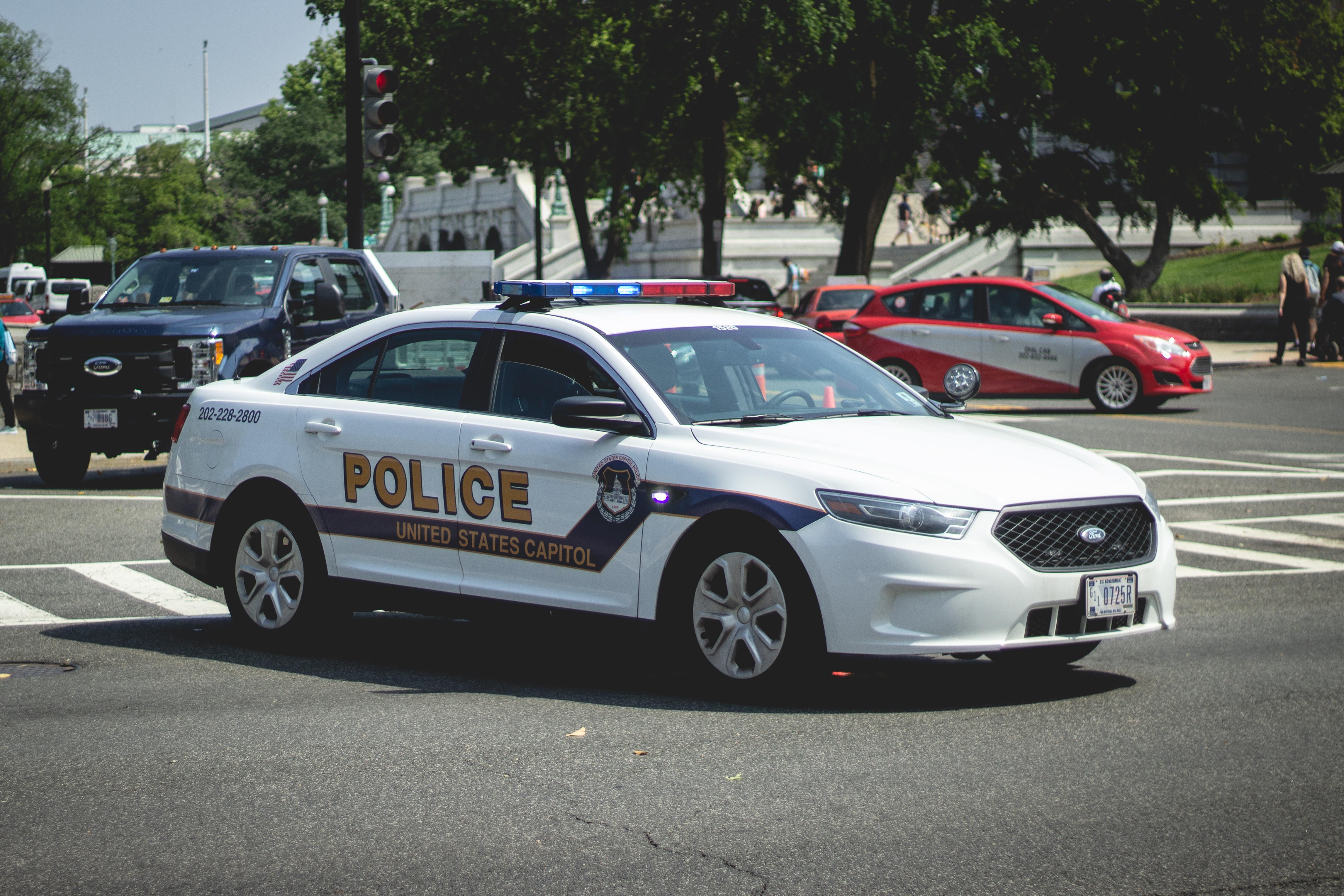 Us capitol police - ford interceptor sedan photo