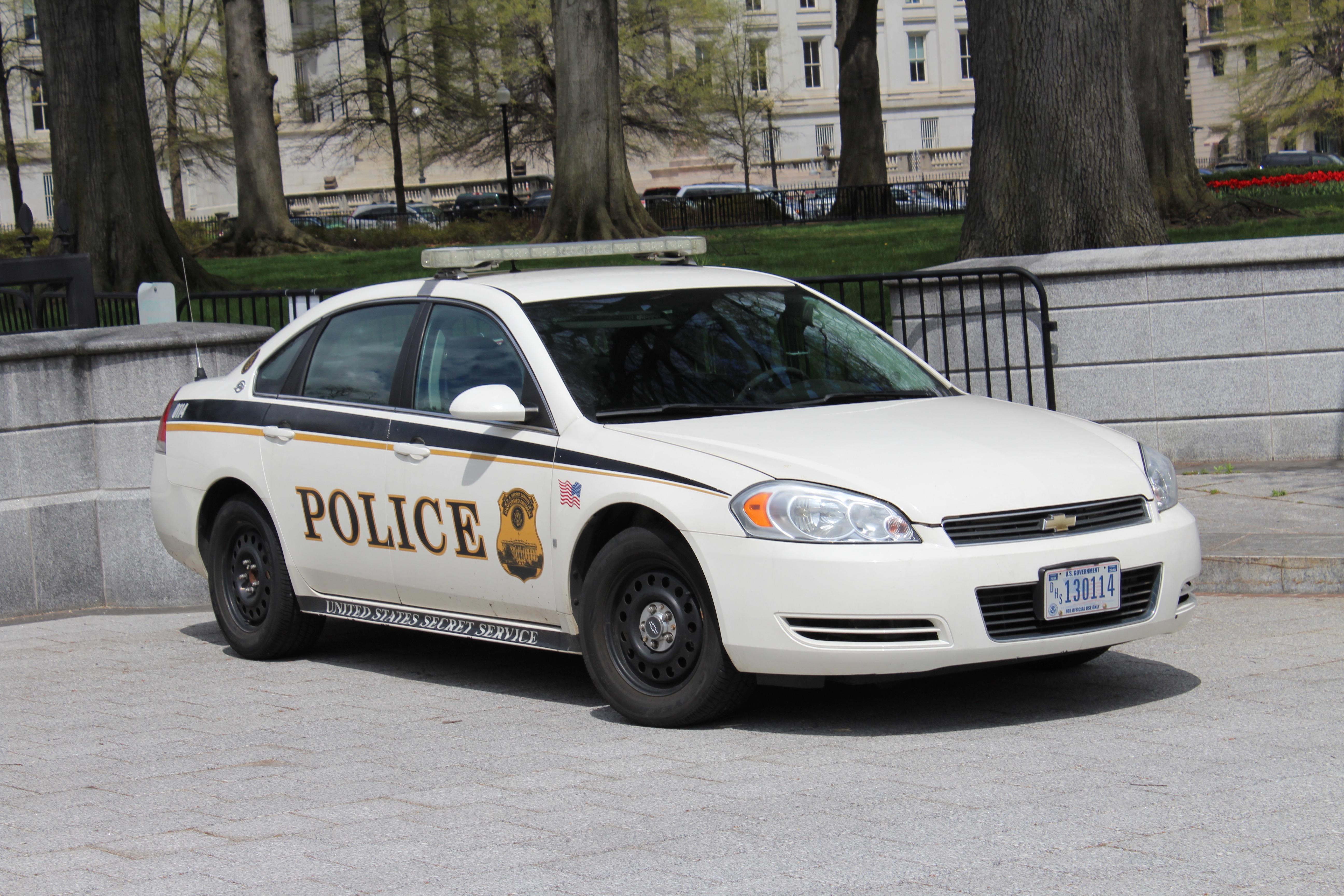 Us secret service uniformed division chevy impala photo