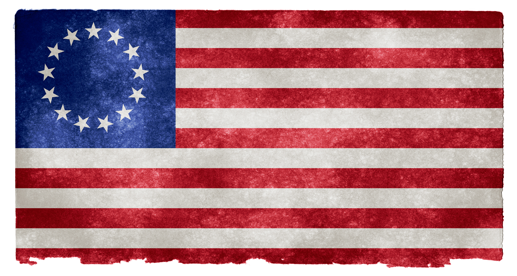 Usa betsy ross grunge flag photo
