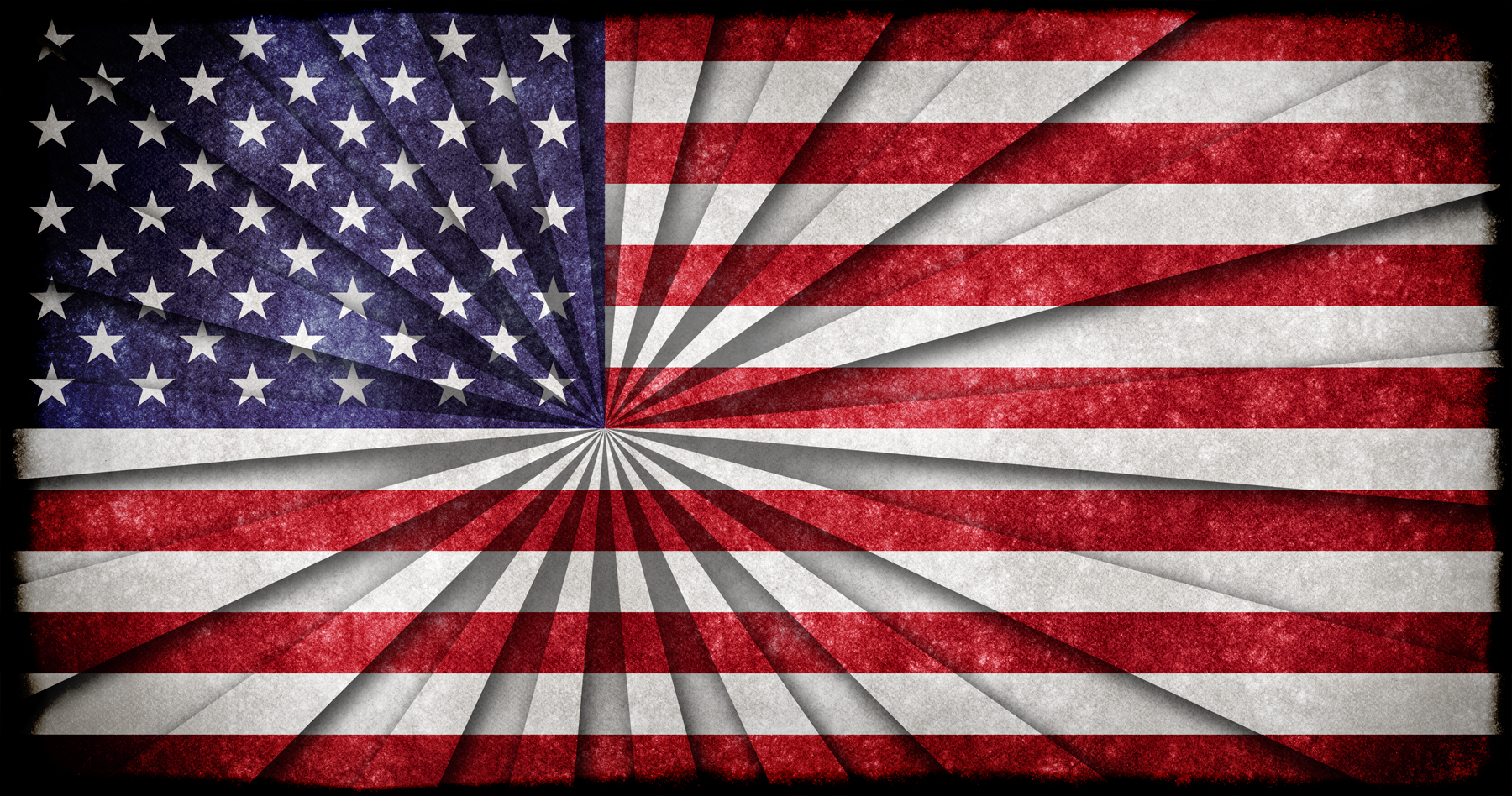 Usa grunge flag photo