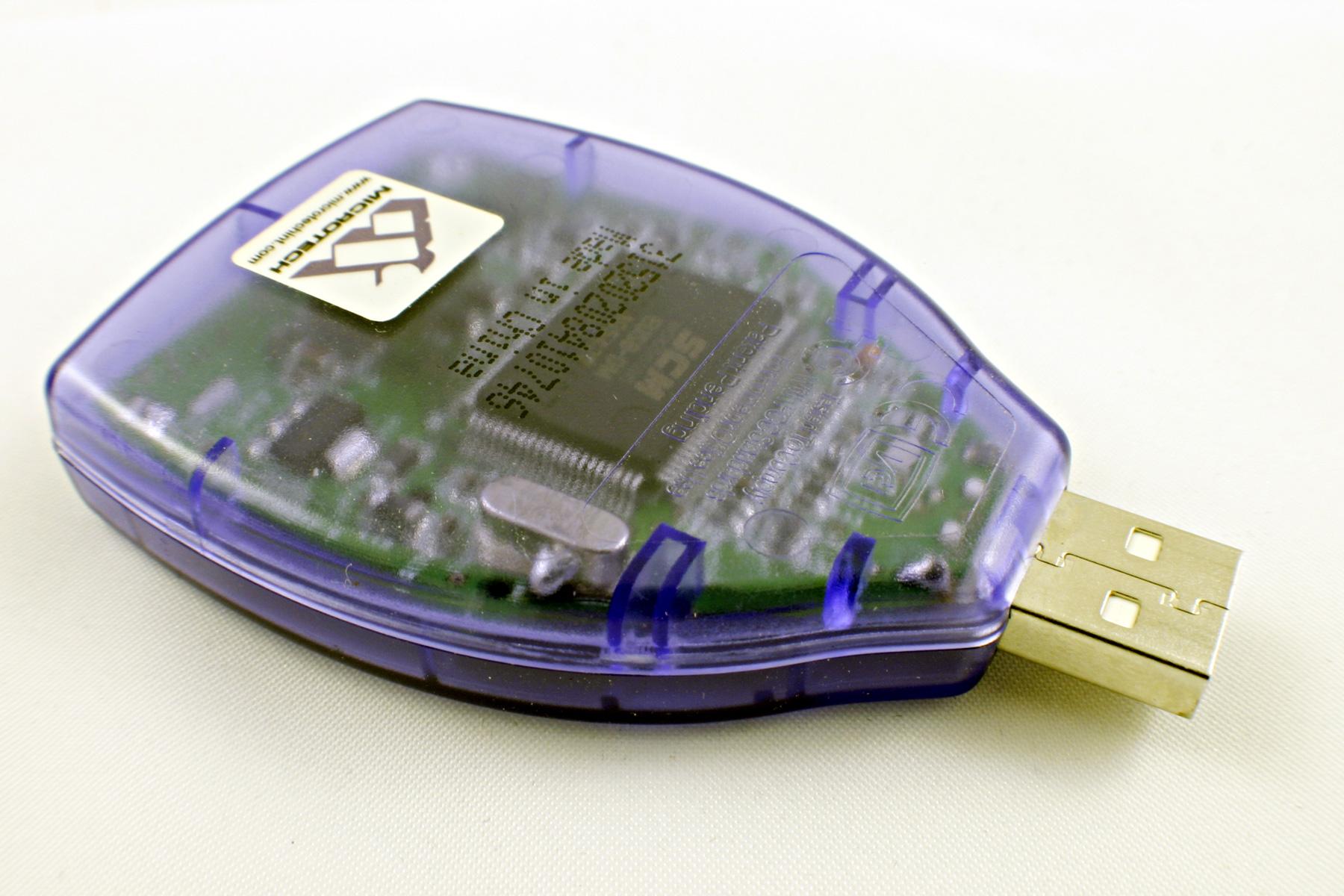 Usb memory card adapter photo