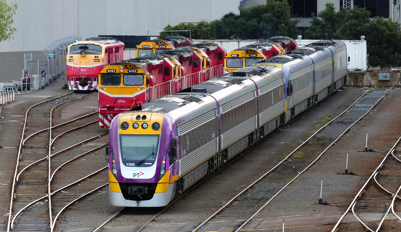 V/ line depot melbourne. photo